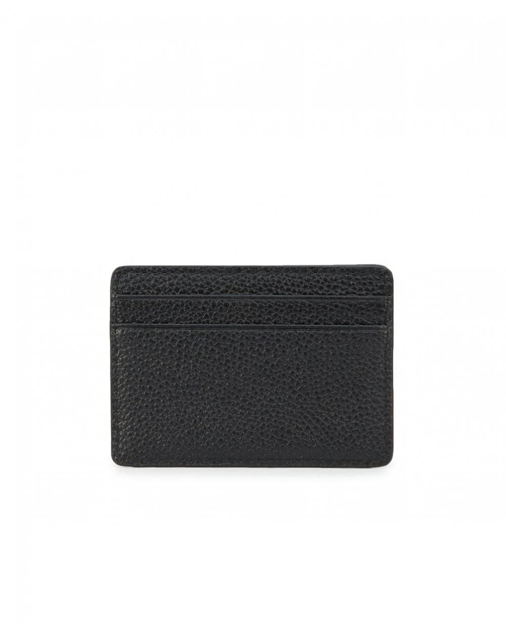 655e15a4614c7 Michael Kors Mercer Card Holder in Black - Lyst