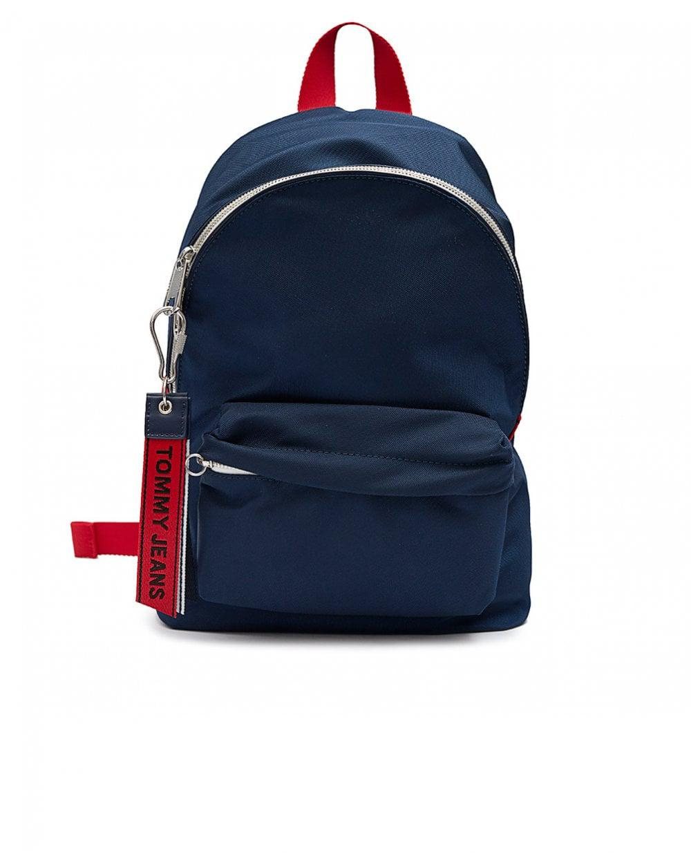 420a4256247 Tommy Hilfiger Tj Logo Tape Mini Backpack in Blue - Lyst