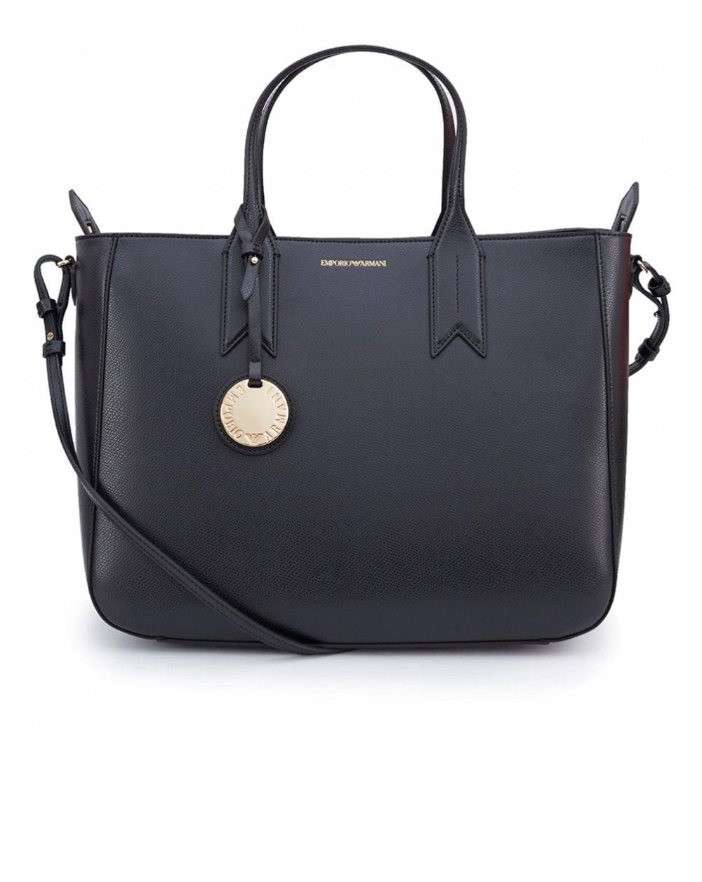 Lyst - Emporio Armani Frida Zip Top Tote Bag in Black for Men ed62509aadcfb