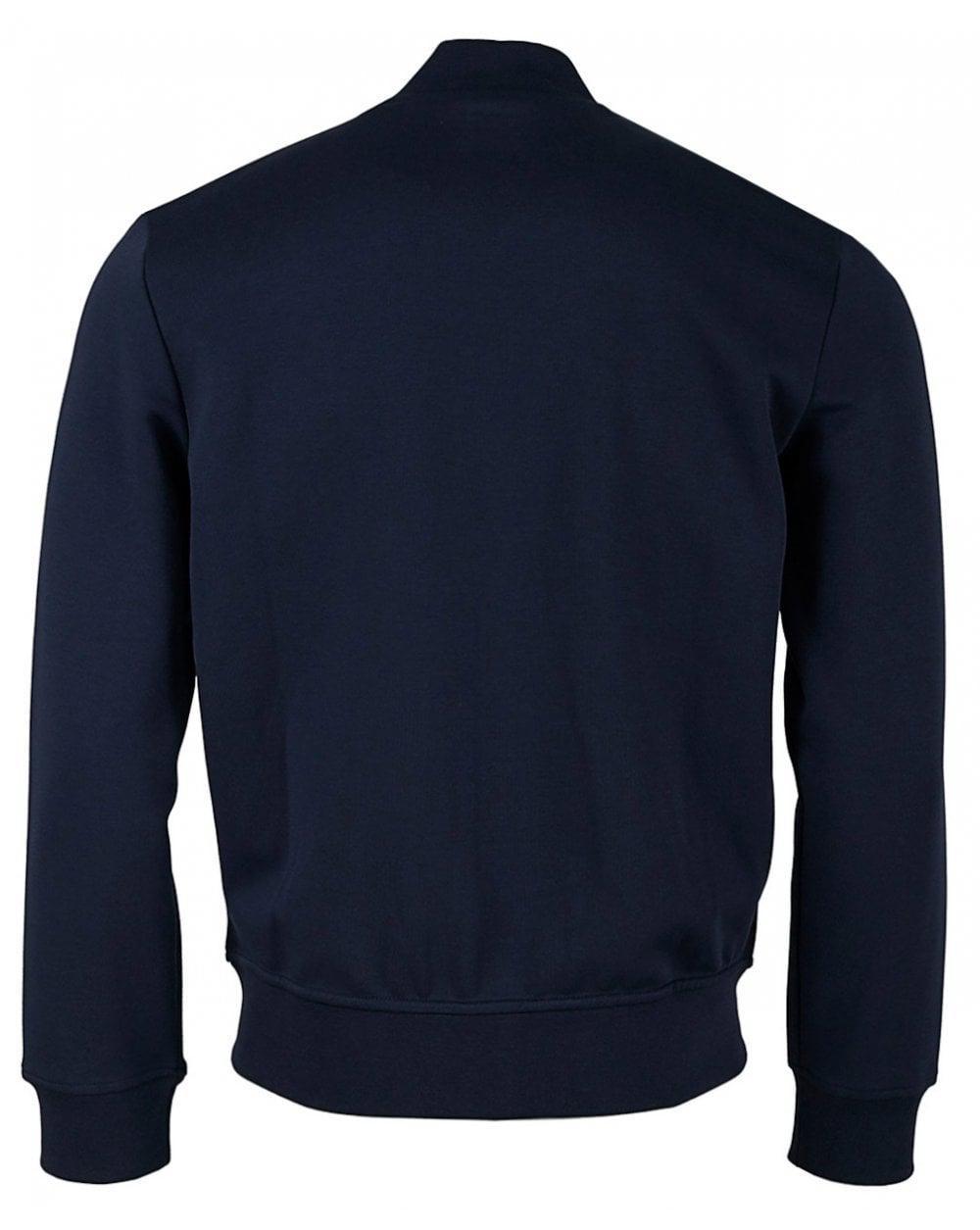 2be685815 Polo Ralph Lauren Zip Through Bomber Sweat in Blue for Men - Lyst