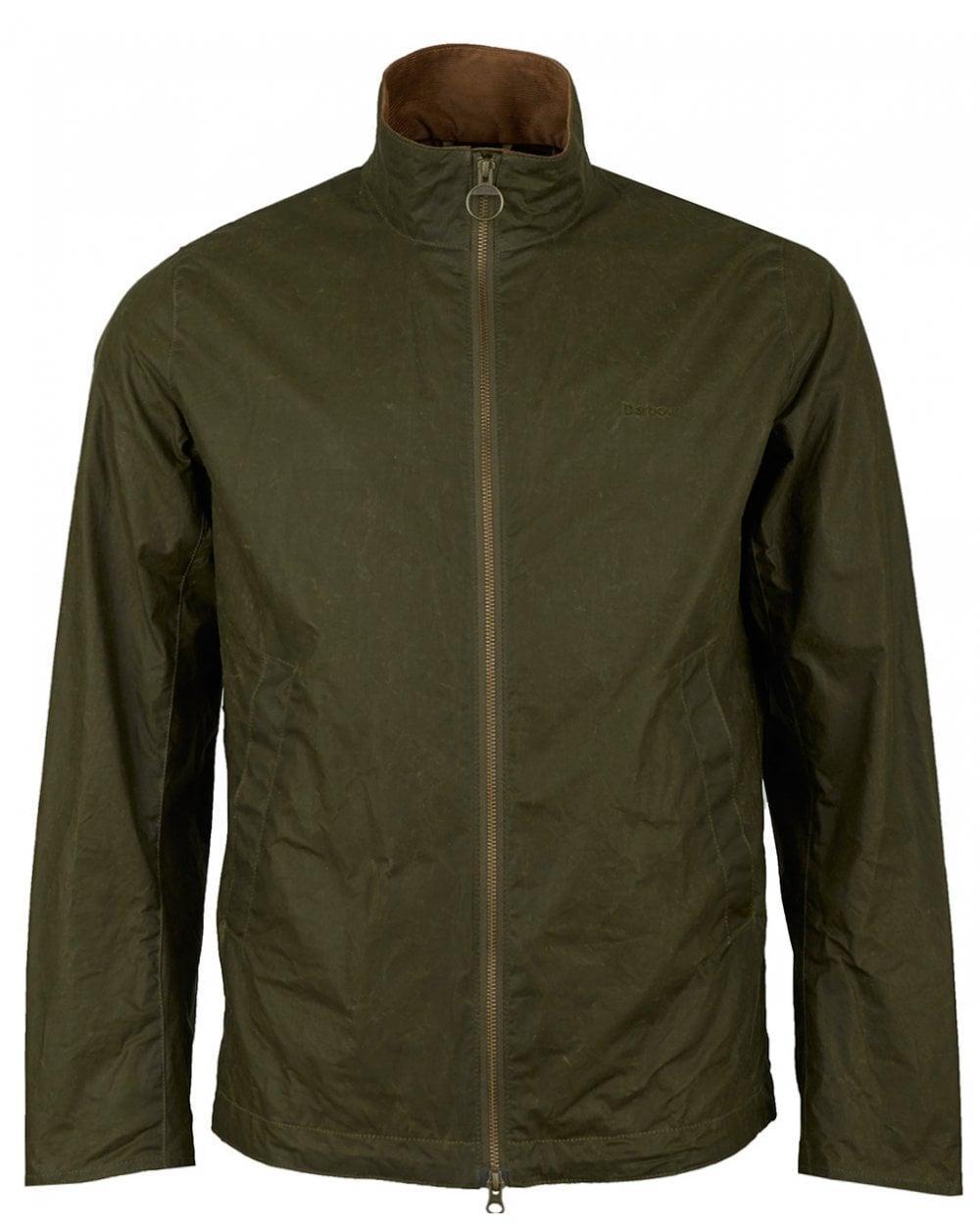 72b75e81b2f3 Barbour Lightweight Admiralty Wax Jacket in Green for Men - Lyst