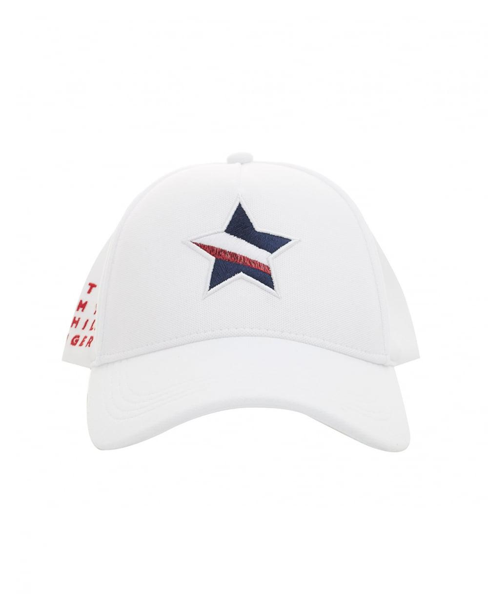 1d2bce4db Tommy Hilfiger Mascot Star Race Cap in White for Men - Lyst