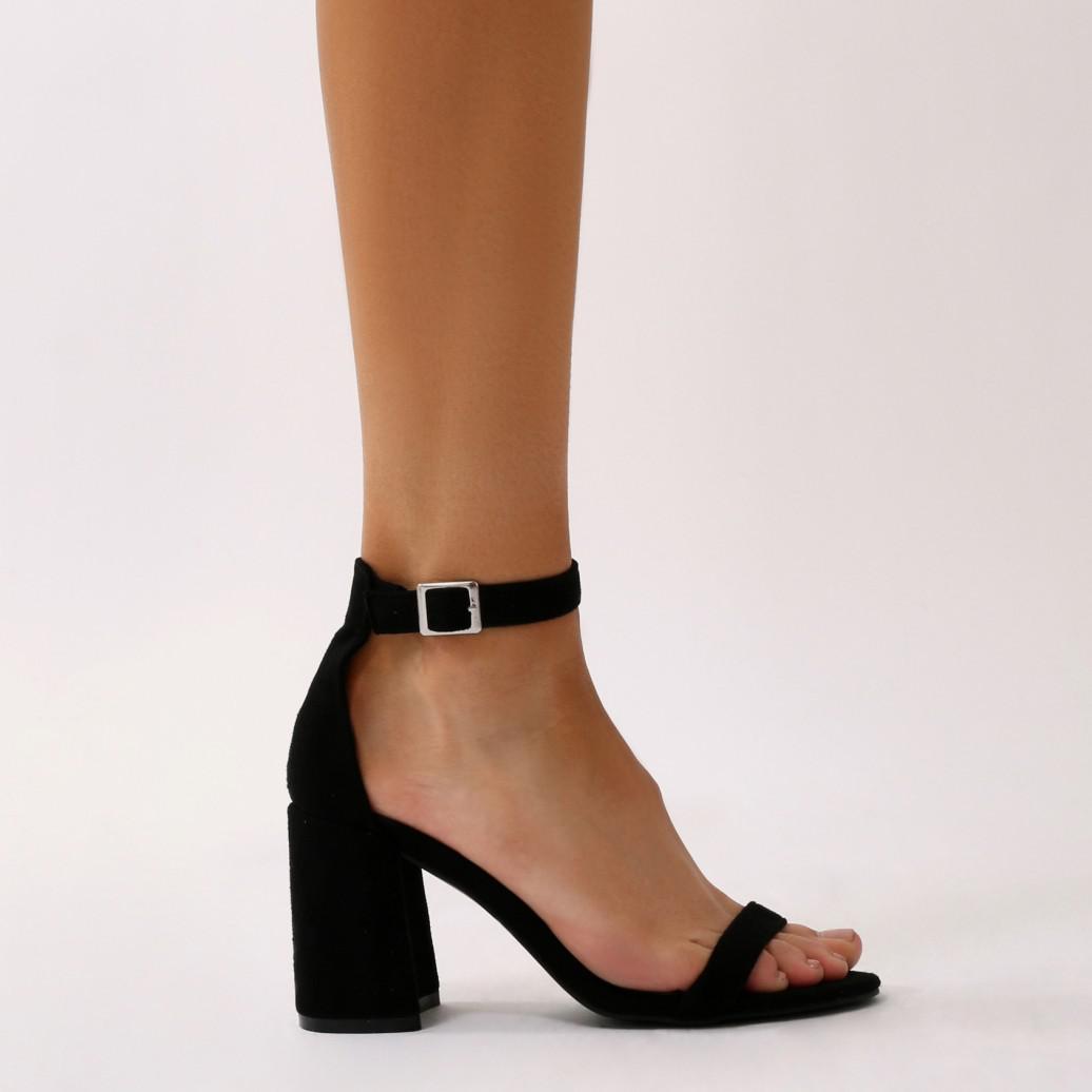 Public Desire GRIER - Sandals - black aaeB6q