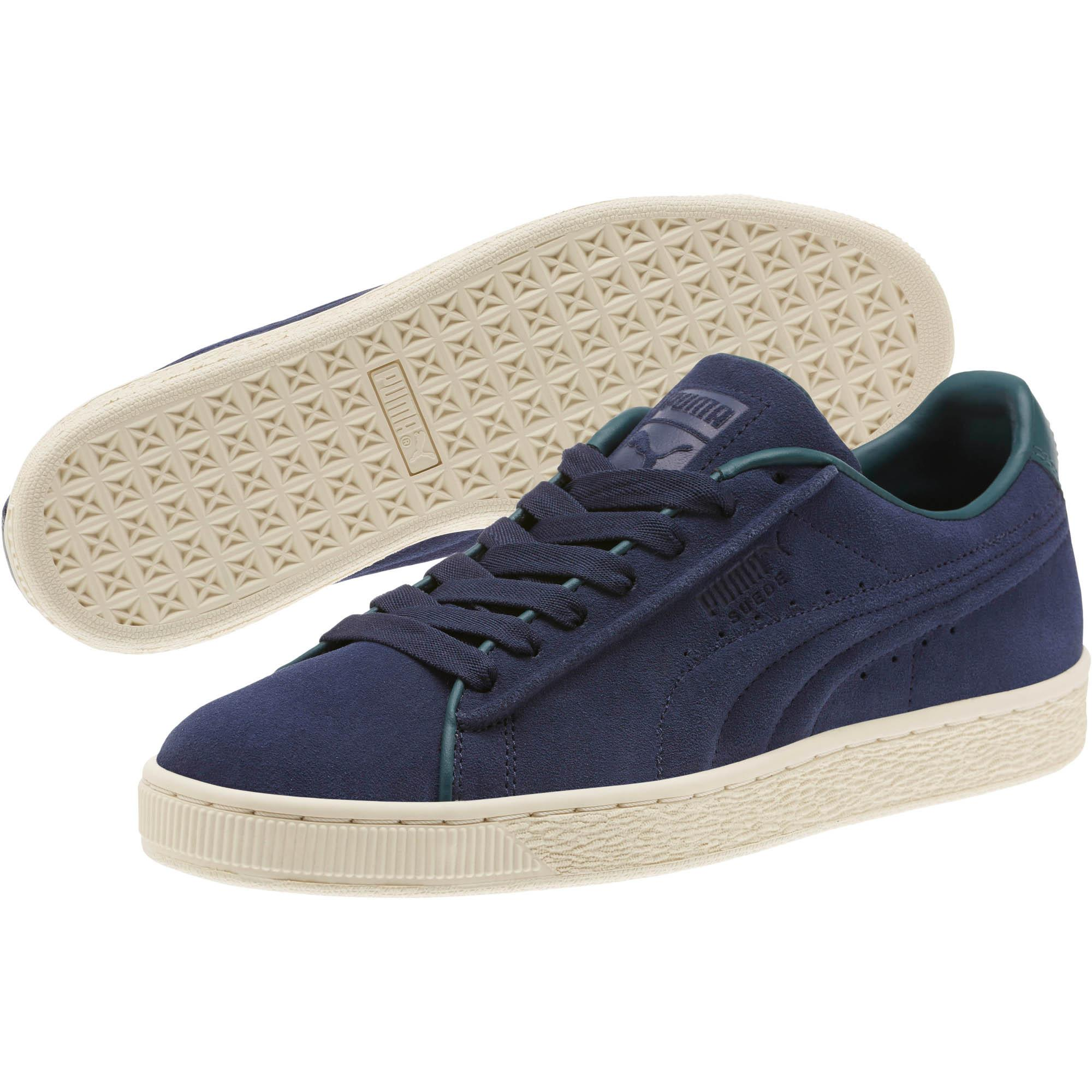 f7ca4b6c18e PUMA - Blue Suede Classic Raised Formstrip Sneakers Unisex Adult - Lyst.  View fullscreen