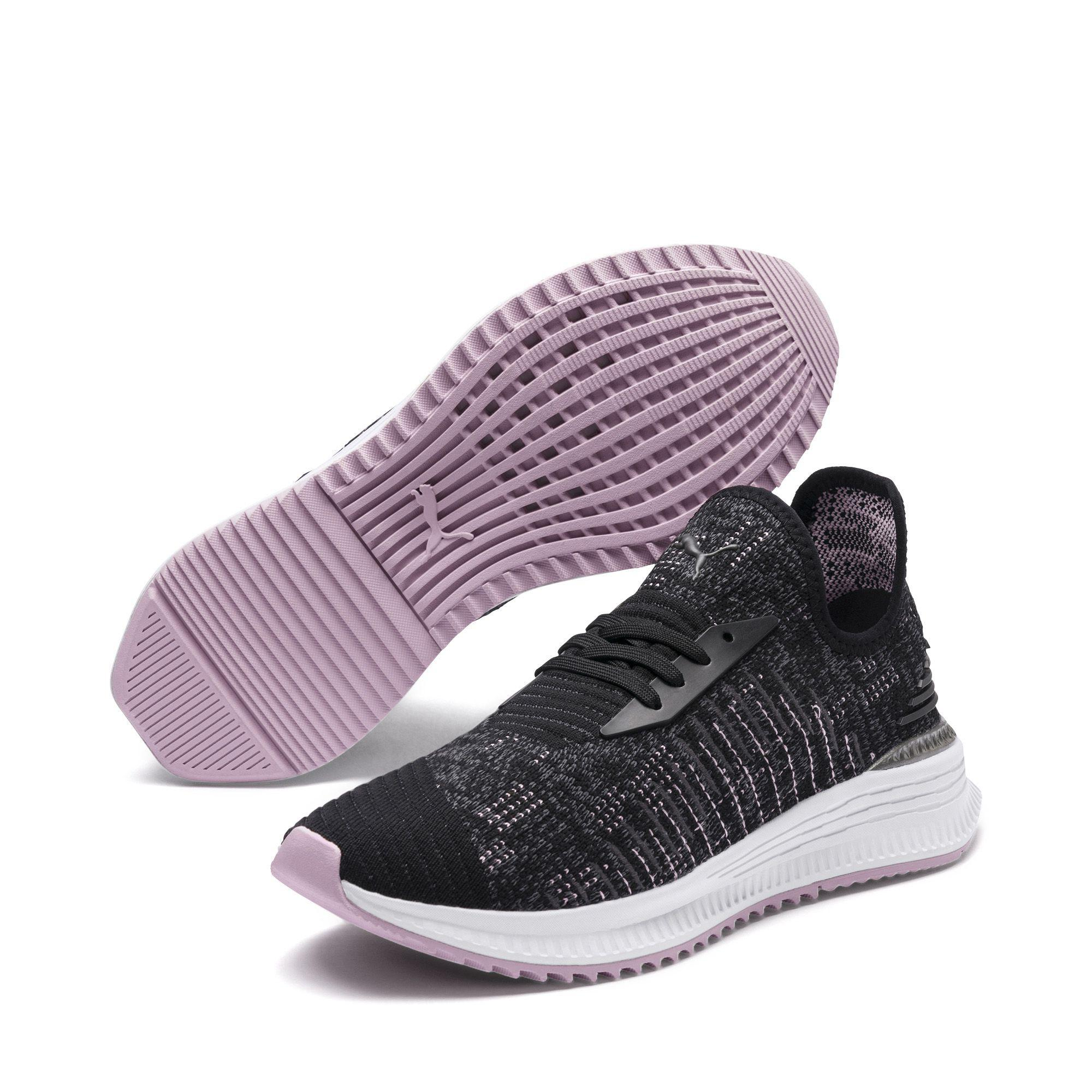 detailed look a292a 6de25 ... Shoes 100% high quality 0e3bc f4327 Lyst - Puma Avid Evoknit Mosaic  Womens Sneakers in Black ...