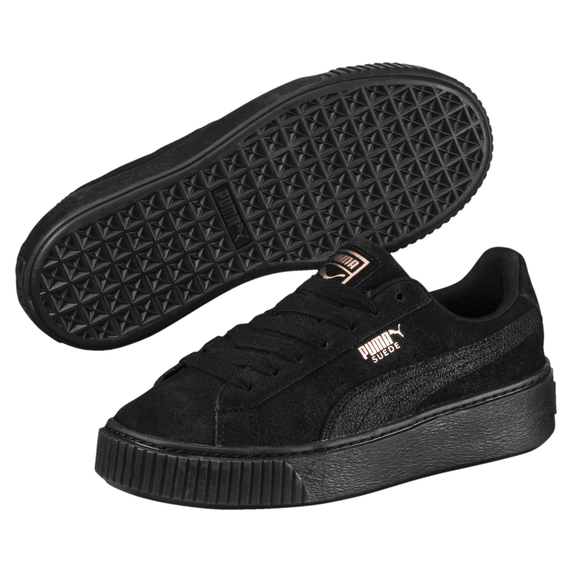 8ad5adc8fbe Lyst - PUMA Suede Platform Artica Women s Sneakers in Black