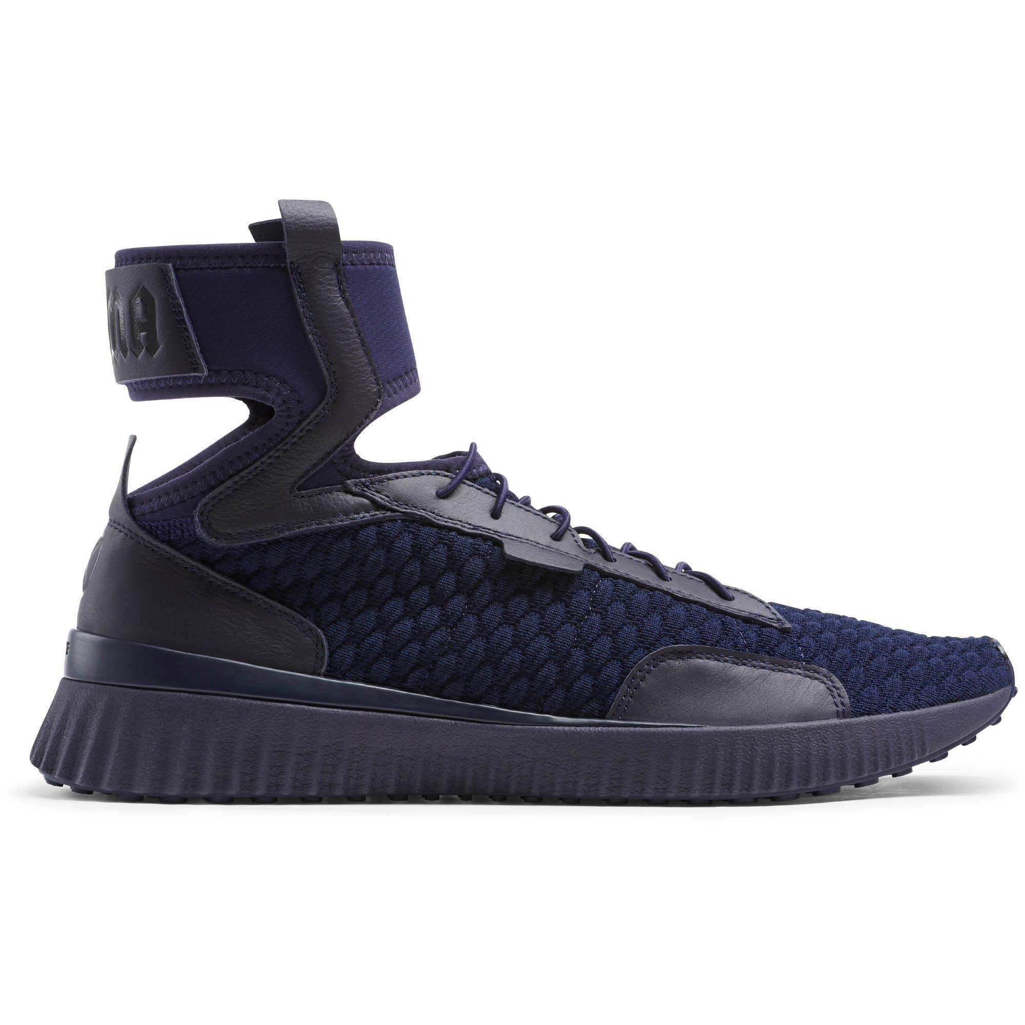 separation shoes 0d213 d2d88 Lyst - PUMA Fenty Trainer Mid Geo Men's Sneakers in Blue for Men