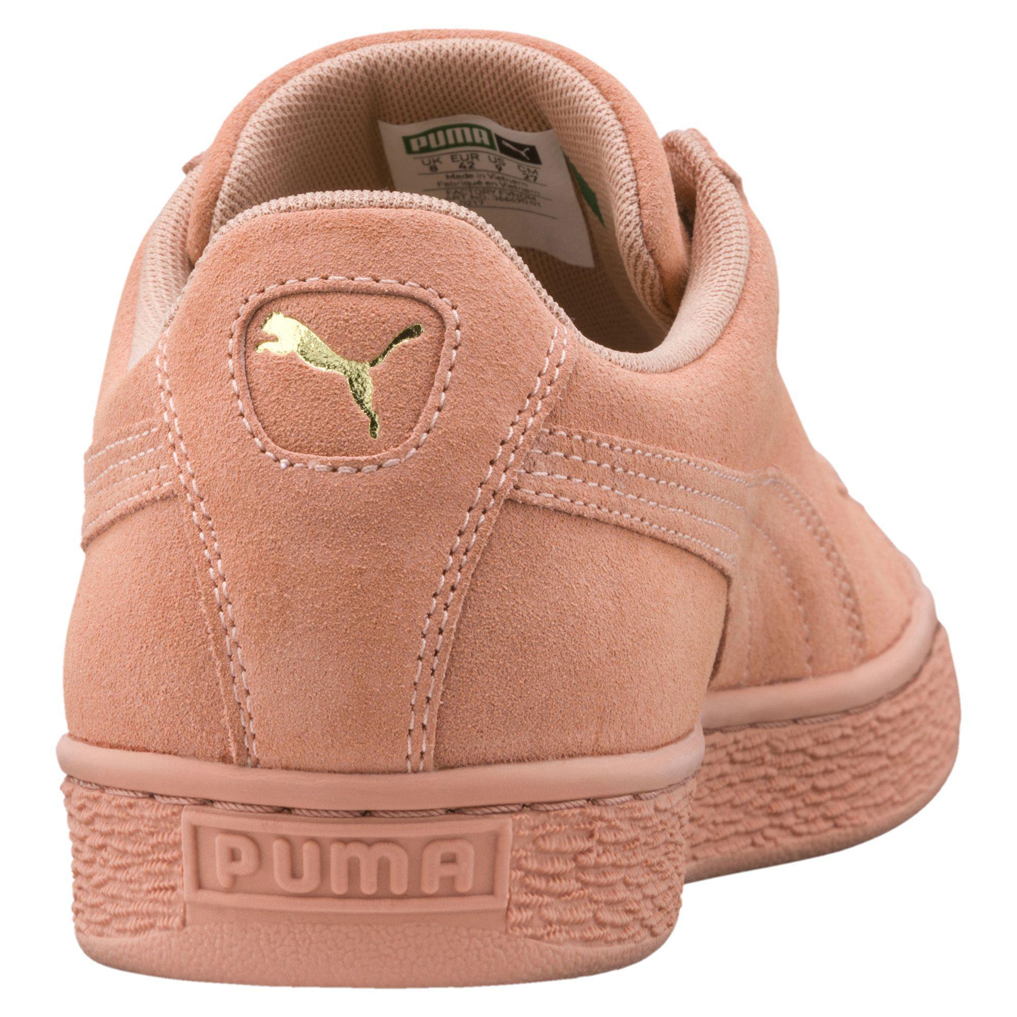 74a1573849 ... PUMA - Pink Suede Classic Tonal Sneakers - Lyst. View fullscreen huge  discount b7018 feedf ...