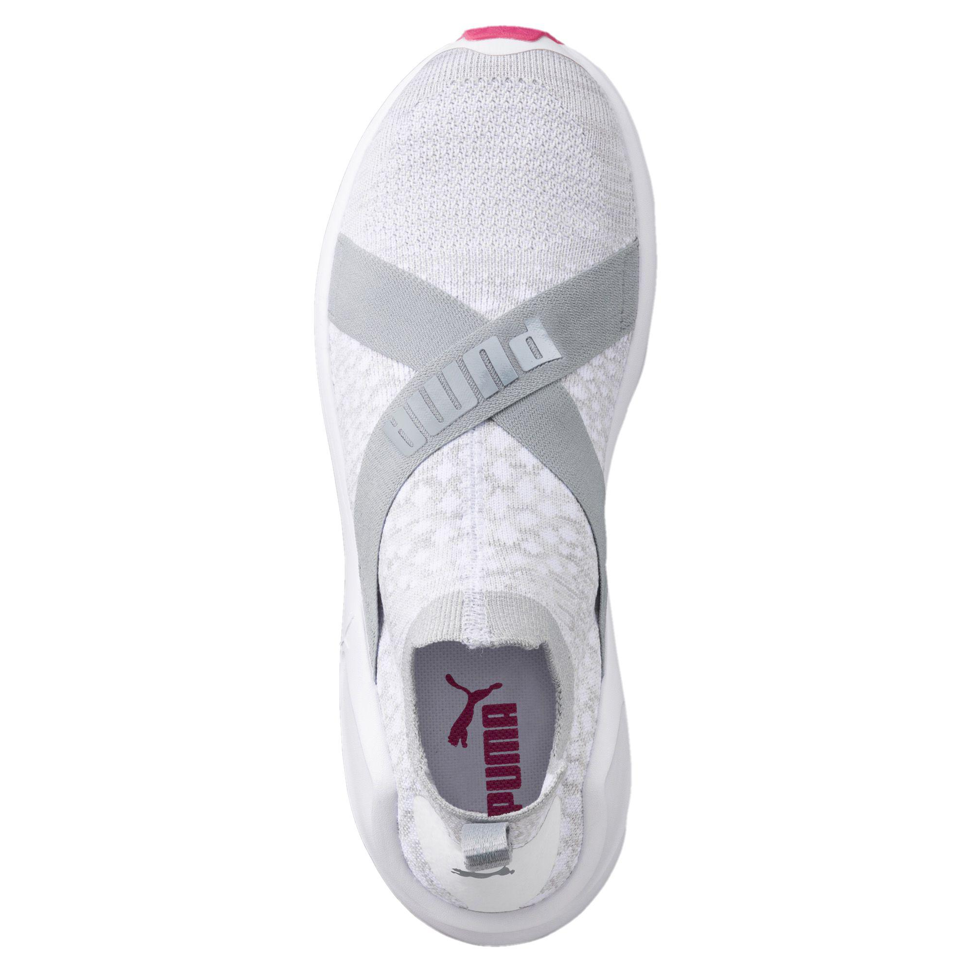 Lyst - PUMA Fierce Evoknit Women s Training Shoes in White 1f09df75d