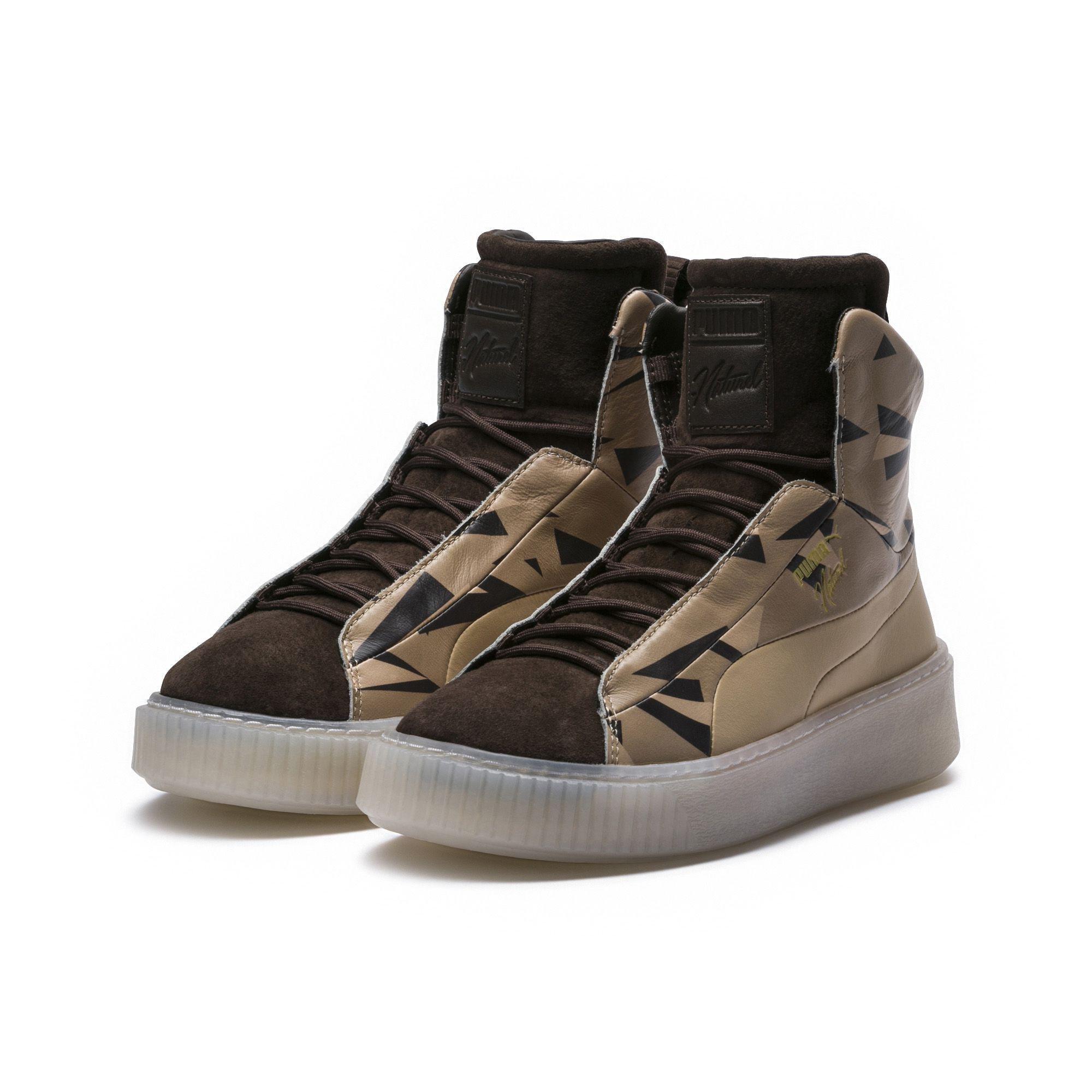 9722ac6fc520 Lyst - PUMA X Naturel Platform Fshn Cheetah Women s Sneakers in Brown