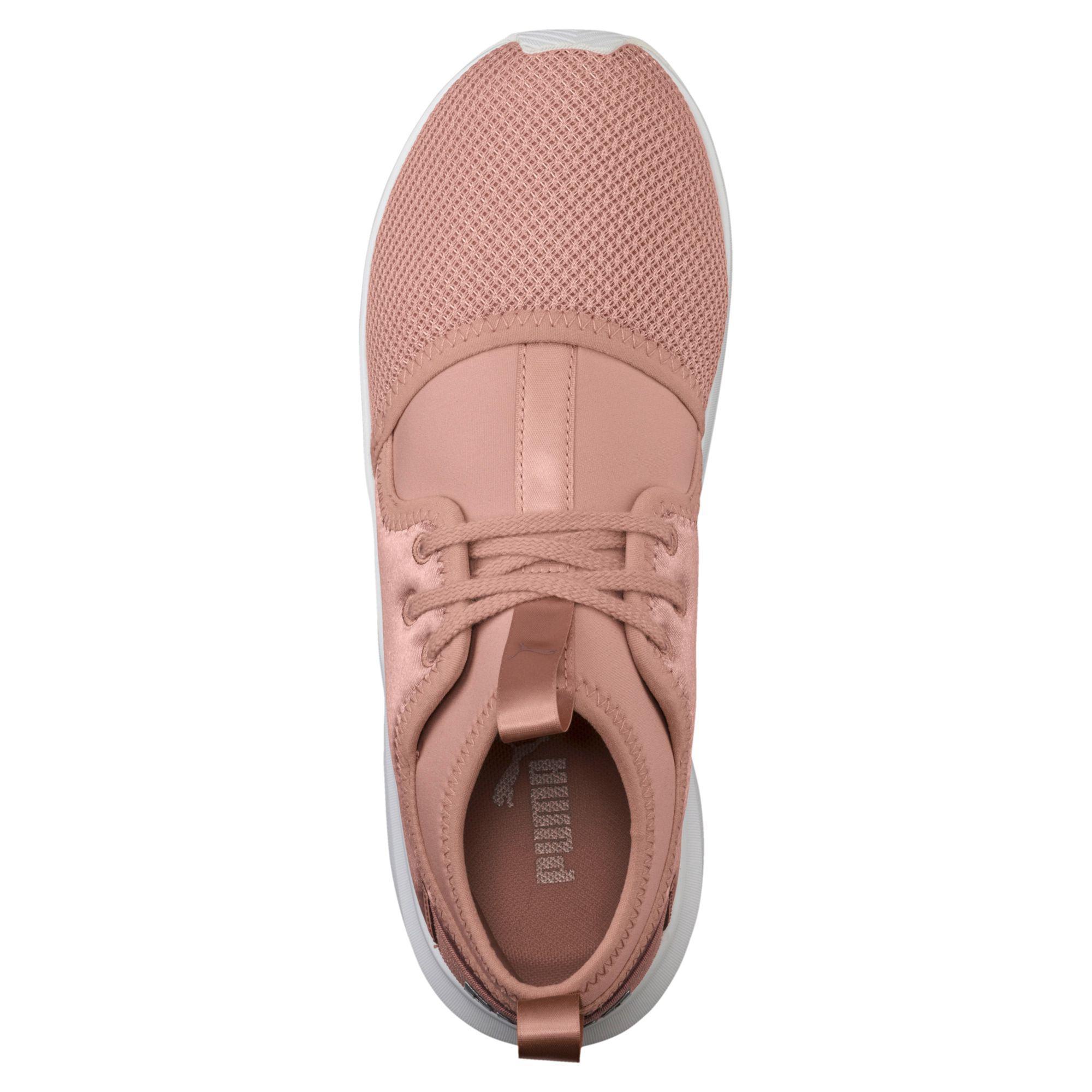 3b24e29a7dab Lyst - PUMA Phenom Satin Low Ep Women s Training Shoes