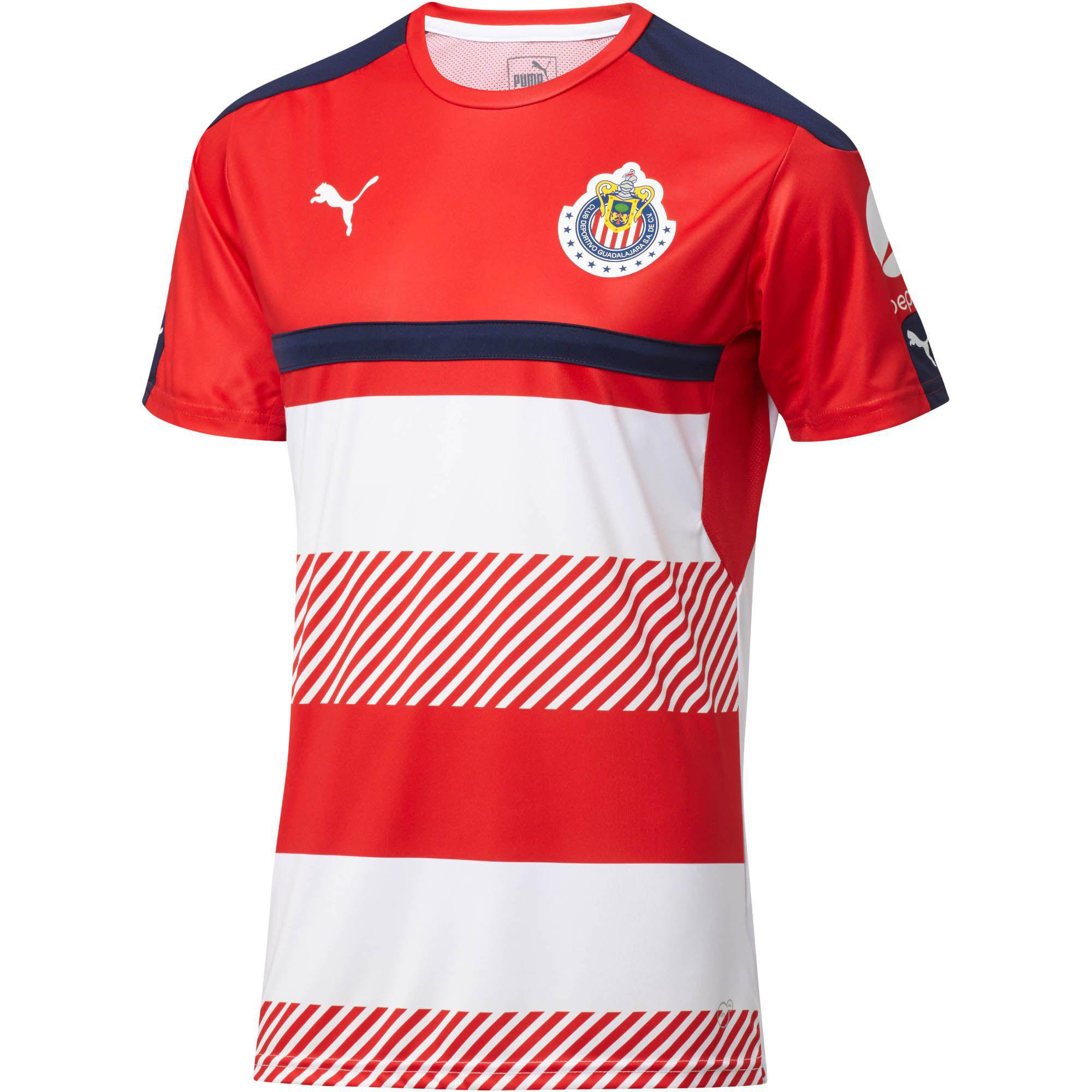size 40 c2282 87a8a PUMA Chivas Training Shirt in Red for Men - Lyst