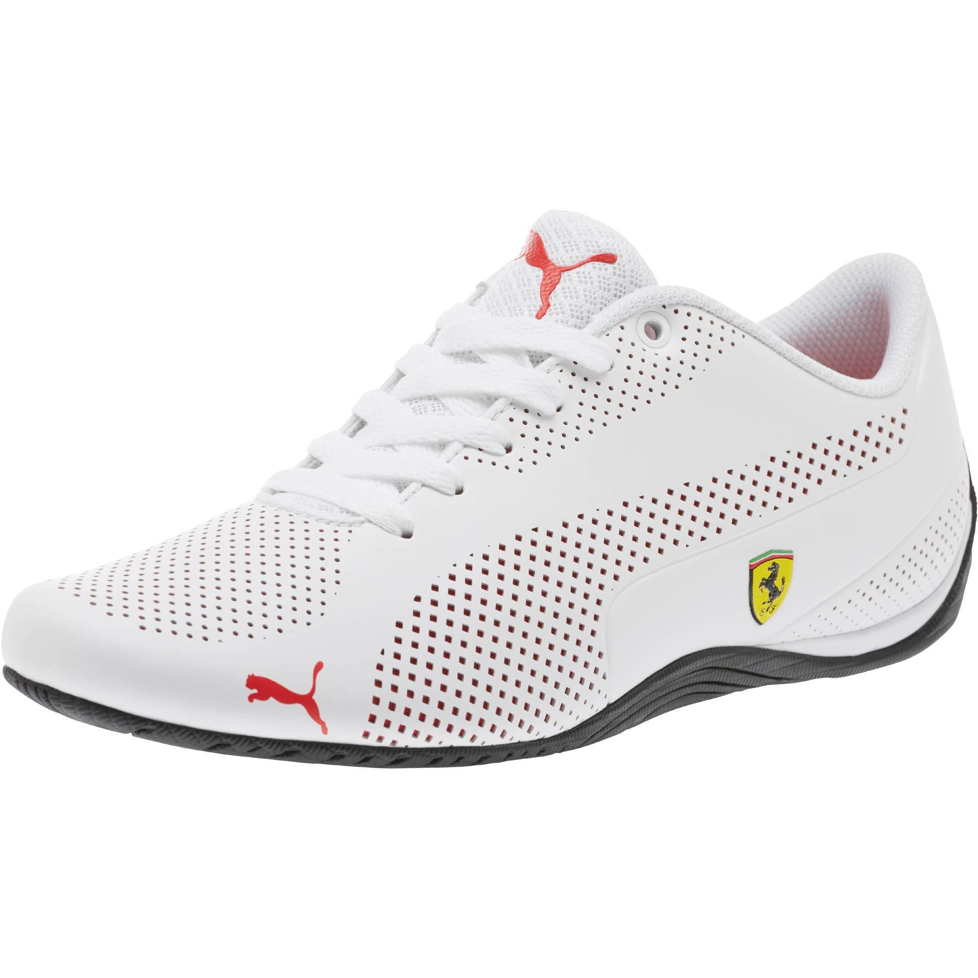 b3509bf2bad5d3 Lyst - PUMA Scuderia Ferrari Drift Cat 5 Ultra Sneakers in White for ...