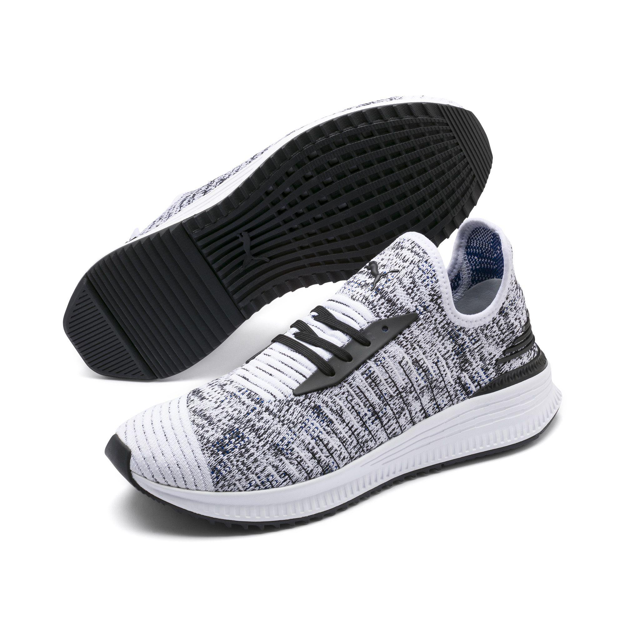 b0104b1e1bb PUMA - Blue Avid Evoknit Mosaic Evolution Sneakers for Men - Lyst. View  fullscreen
