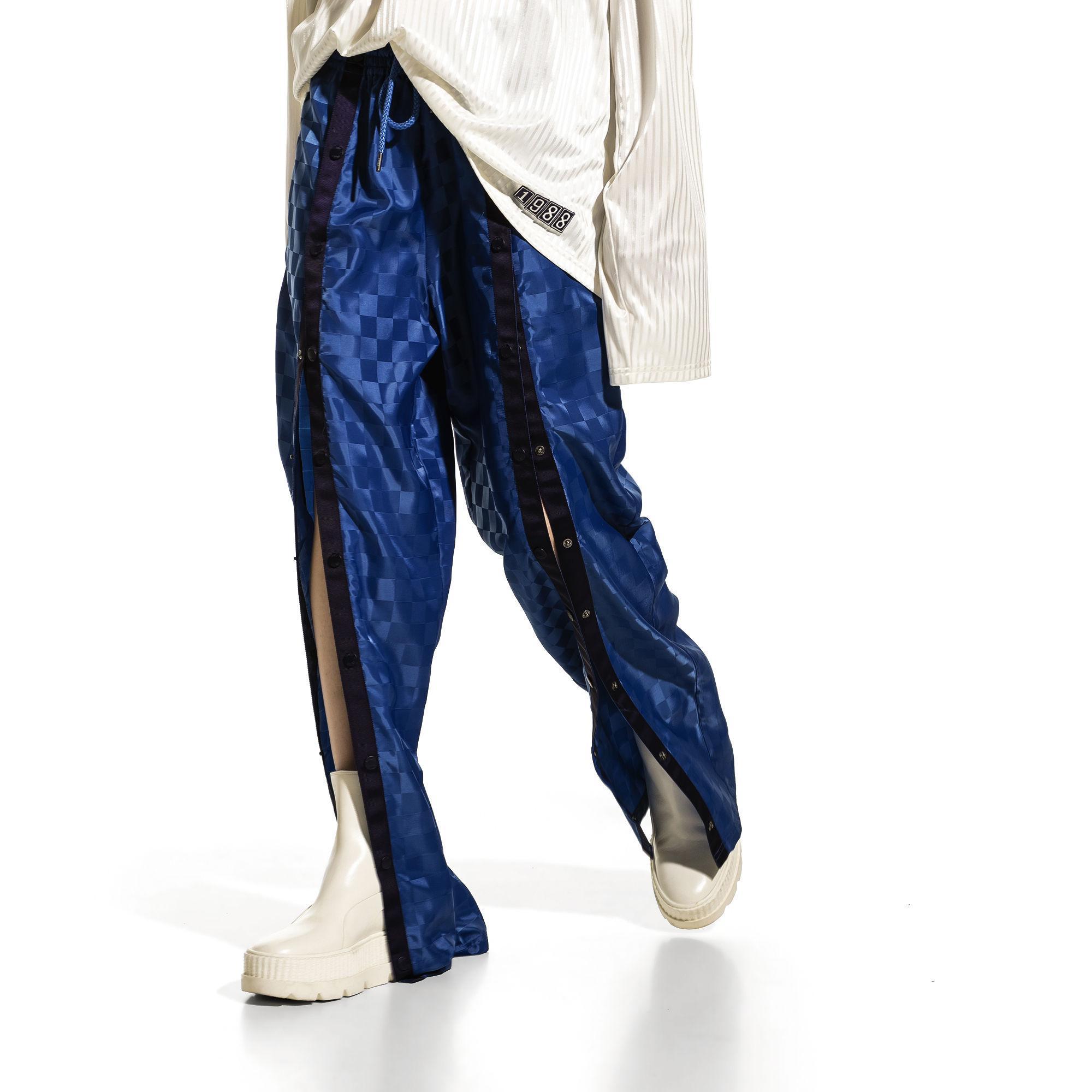 687f32dac62 PUMA Fenty Women's Front Tearaway Track Pant in Blue - Lyst