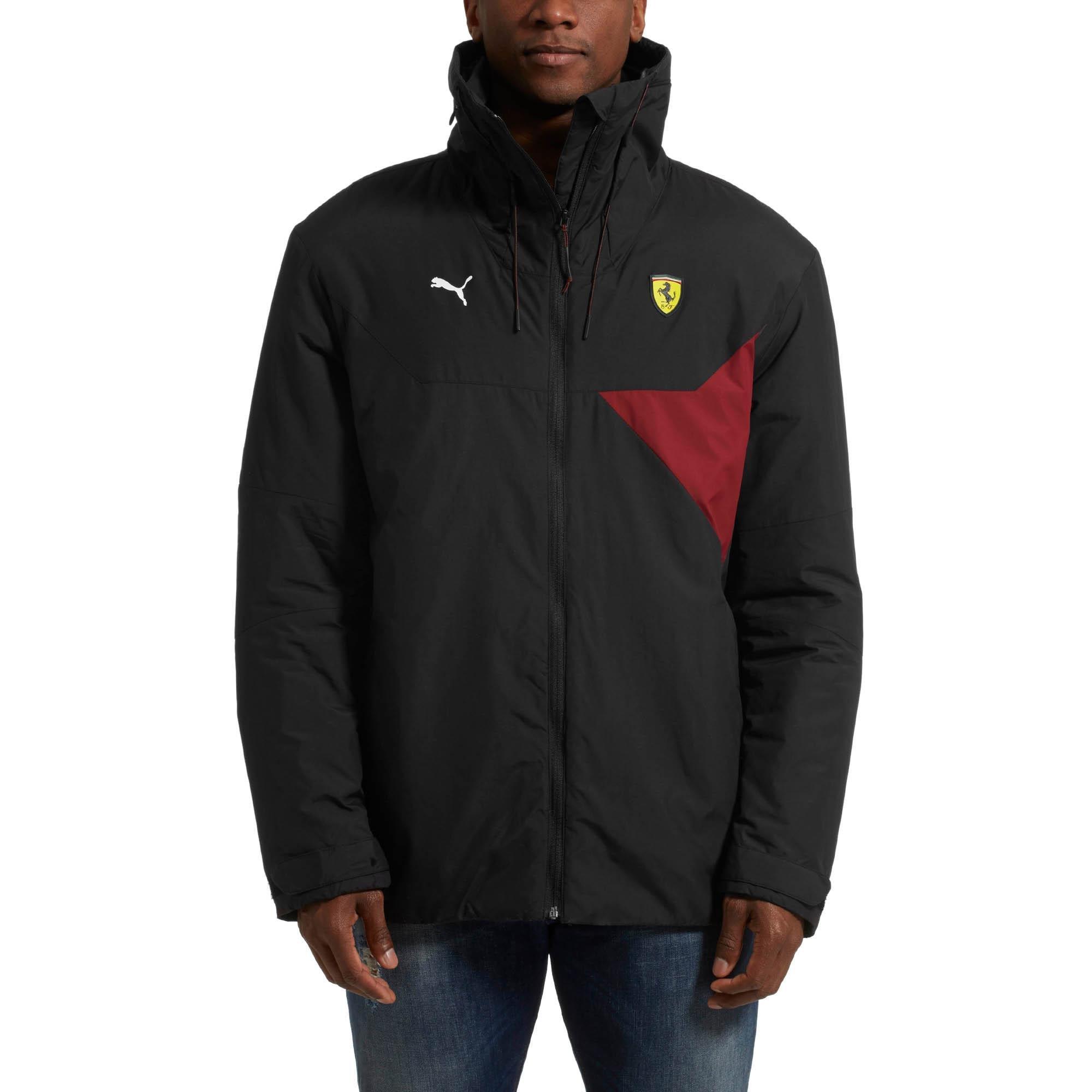 cb9cc3383ed6 Lyst - PUMA Ferrari Rct Zip-up Men s Jacket in Black for Men