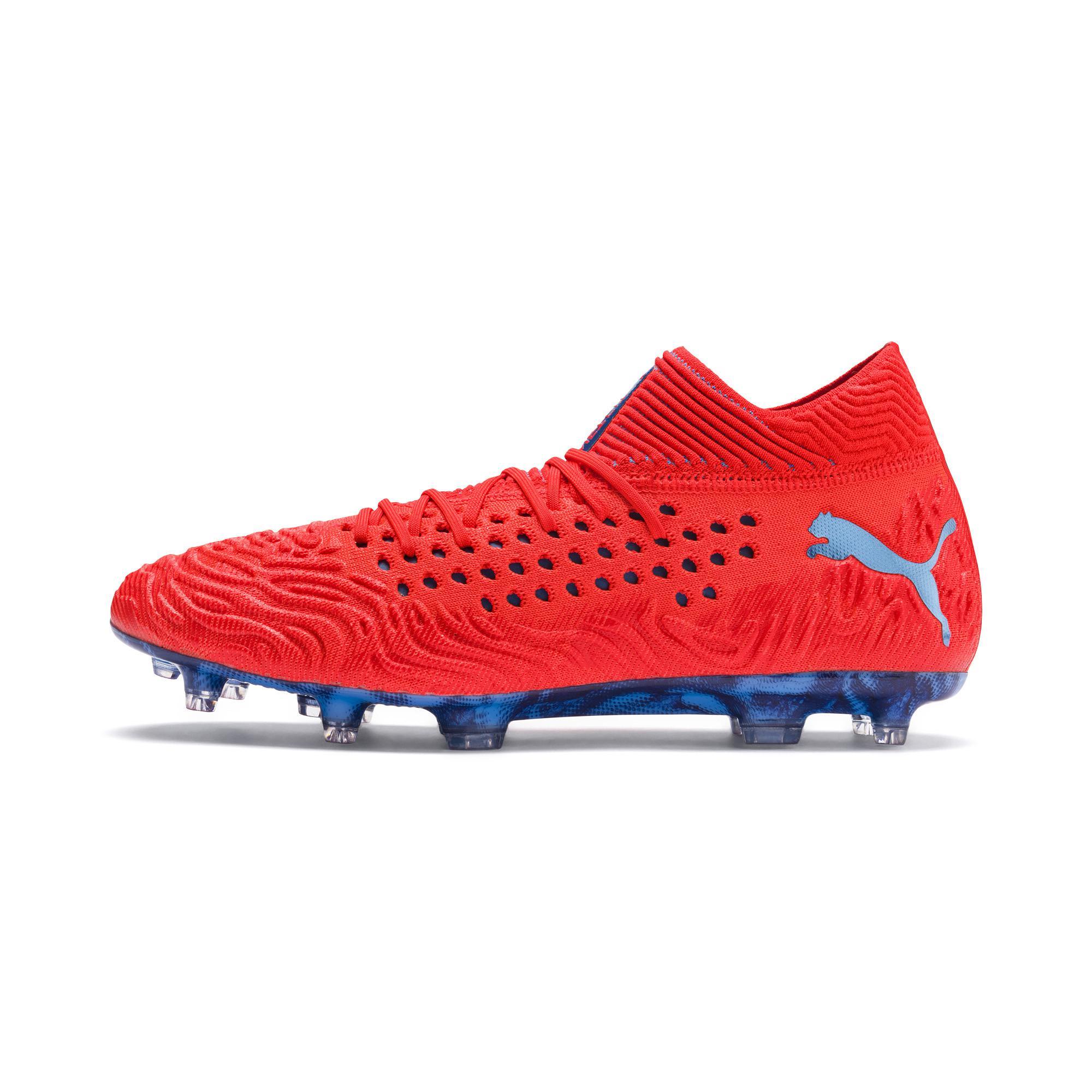 6ac8e9cb27d77d Lyst - PUMA Future 19.1 Netfit Fg ag Men s Soccer Cleats in Red for Men
