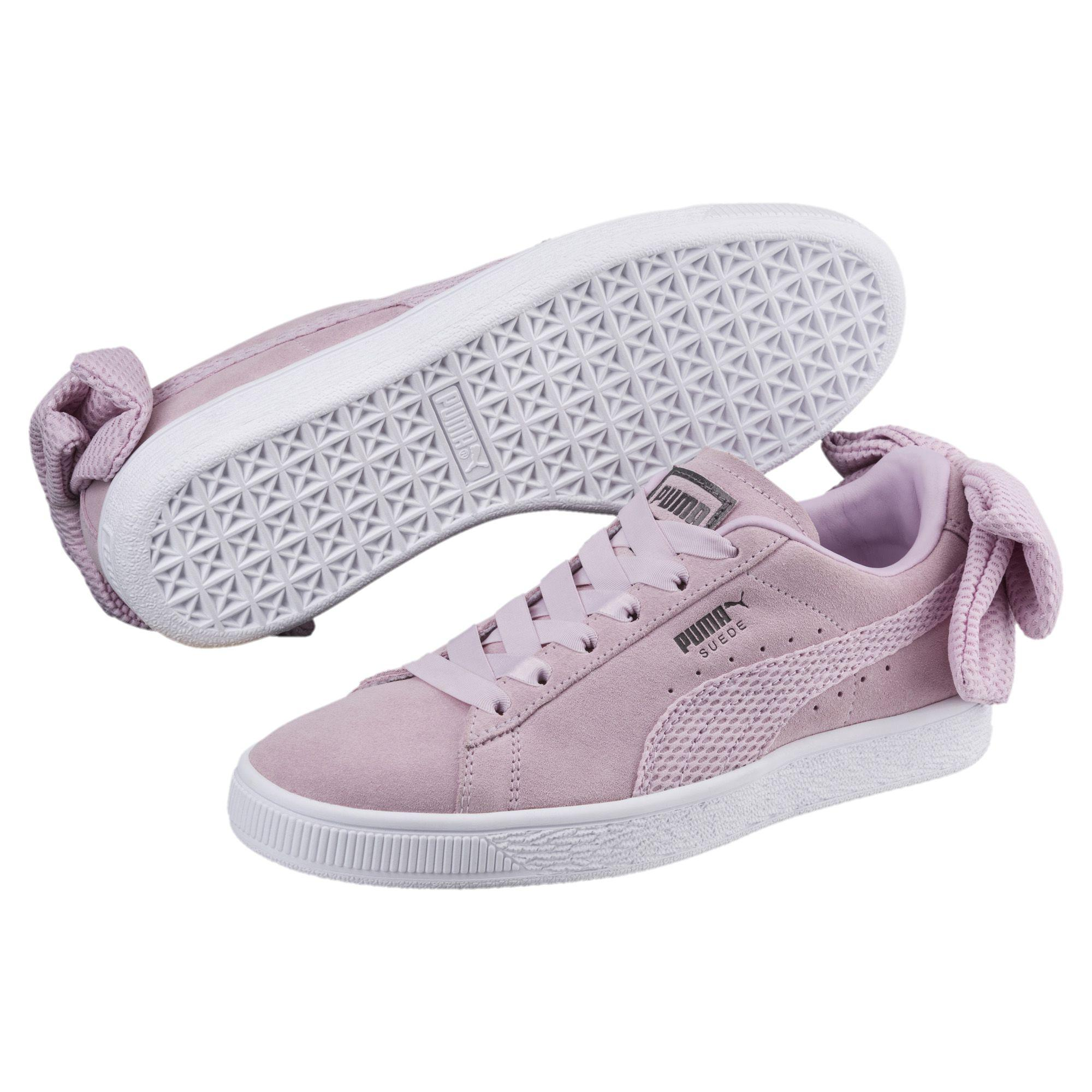 PUMA - Multicolor Suede Bow Uprising Women s Sneakers - Lyst. View  fullscreen a35689384