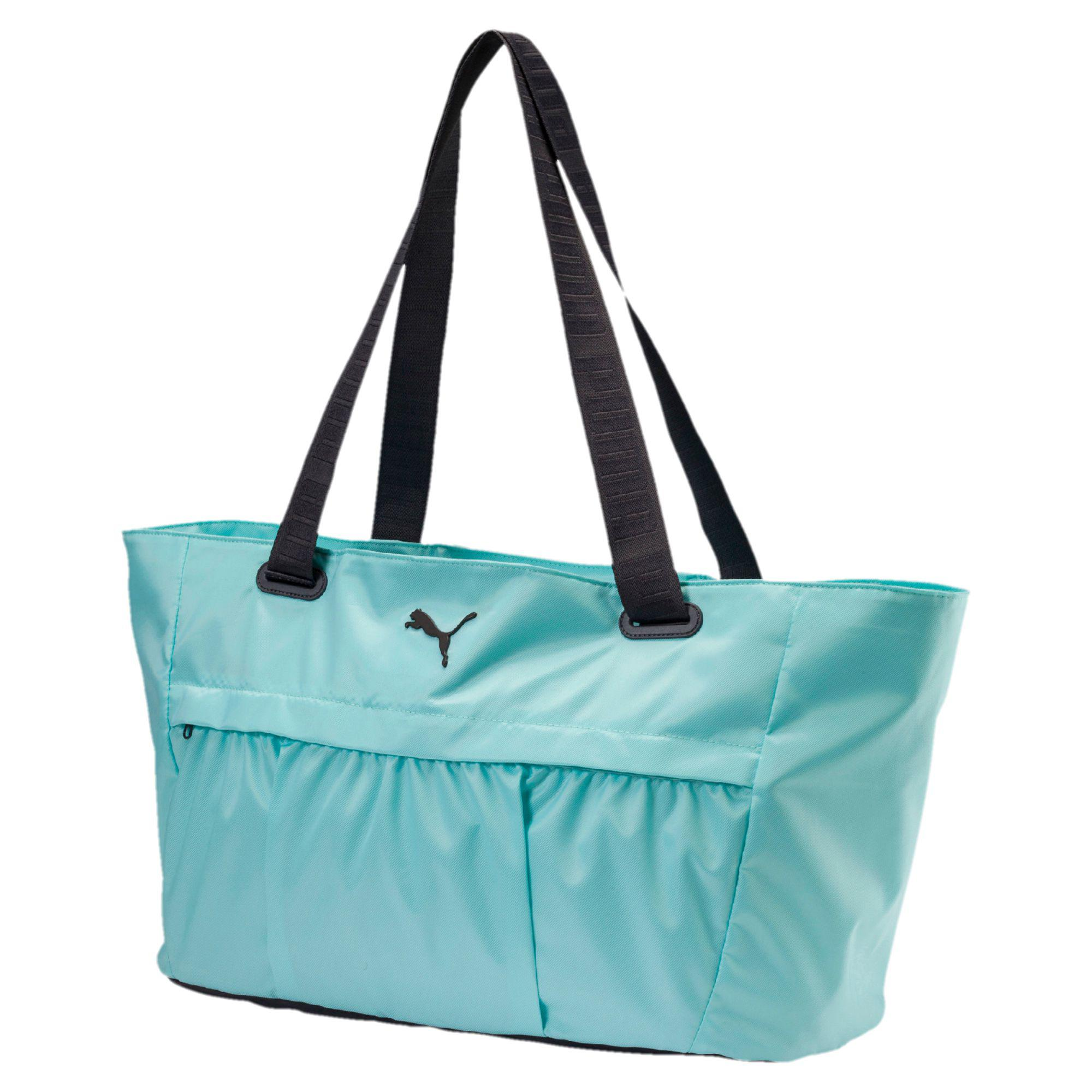 4d17283540 Lyst - PUMA Active Training Women s Workout Bag in Blue