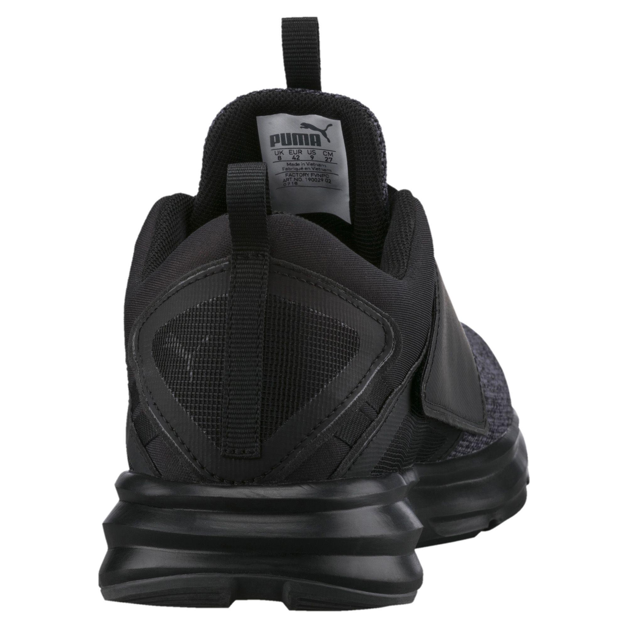 832ece7efcf Lyst - PUMA Enzo Strap Knit Men s Running Shoes in Black for Men
