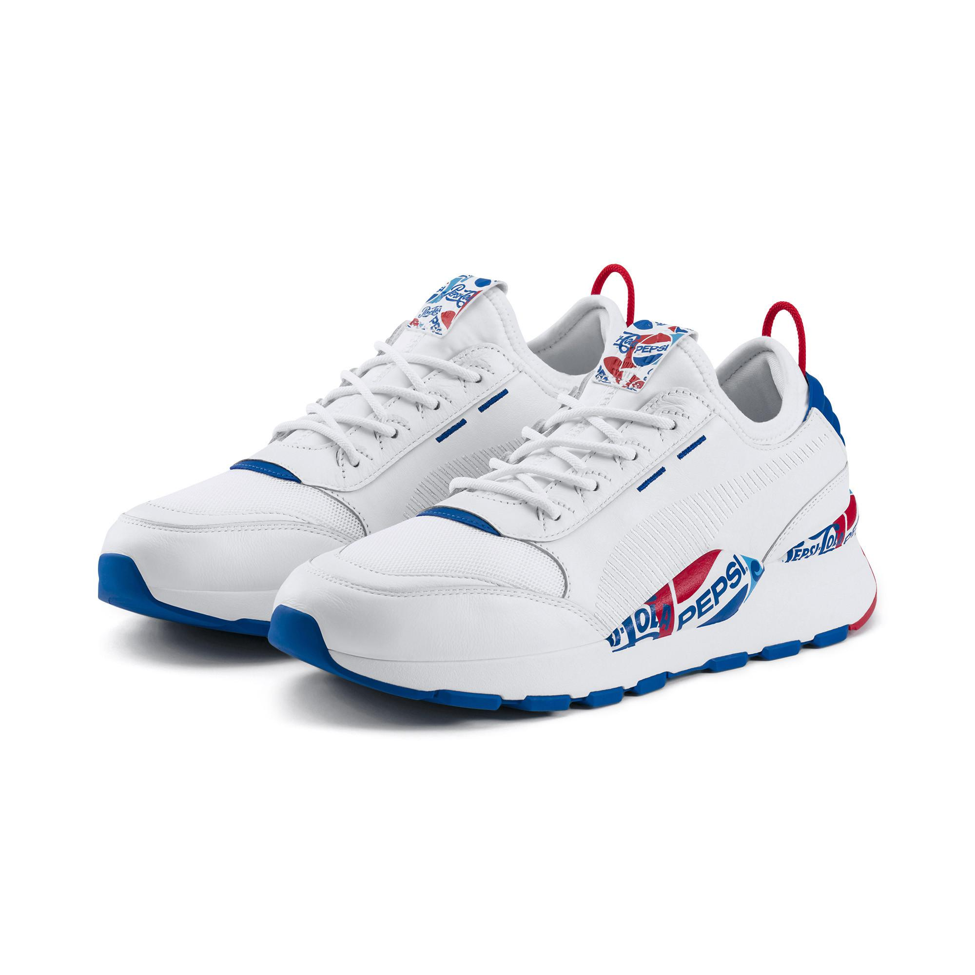 30ba4994fbd Lyst - PUMA X Pepsi Rs-0 Men s Sneakers in Blue for Men