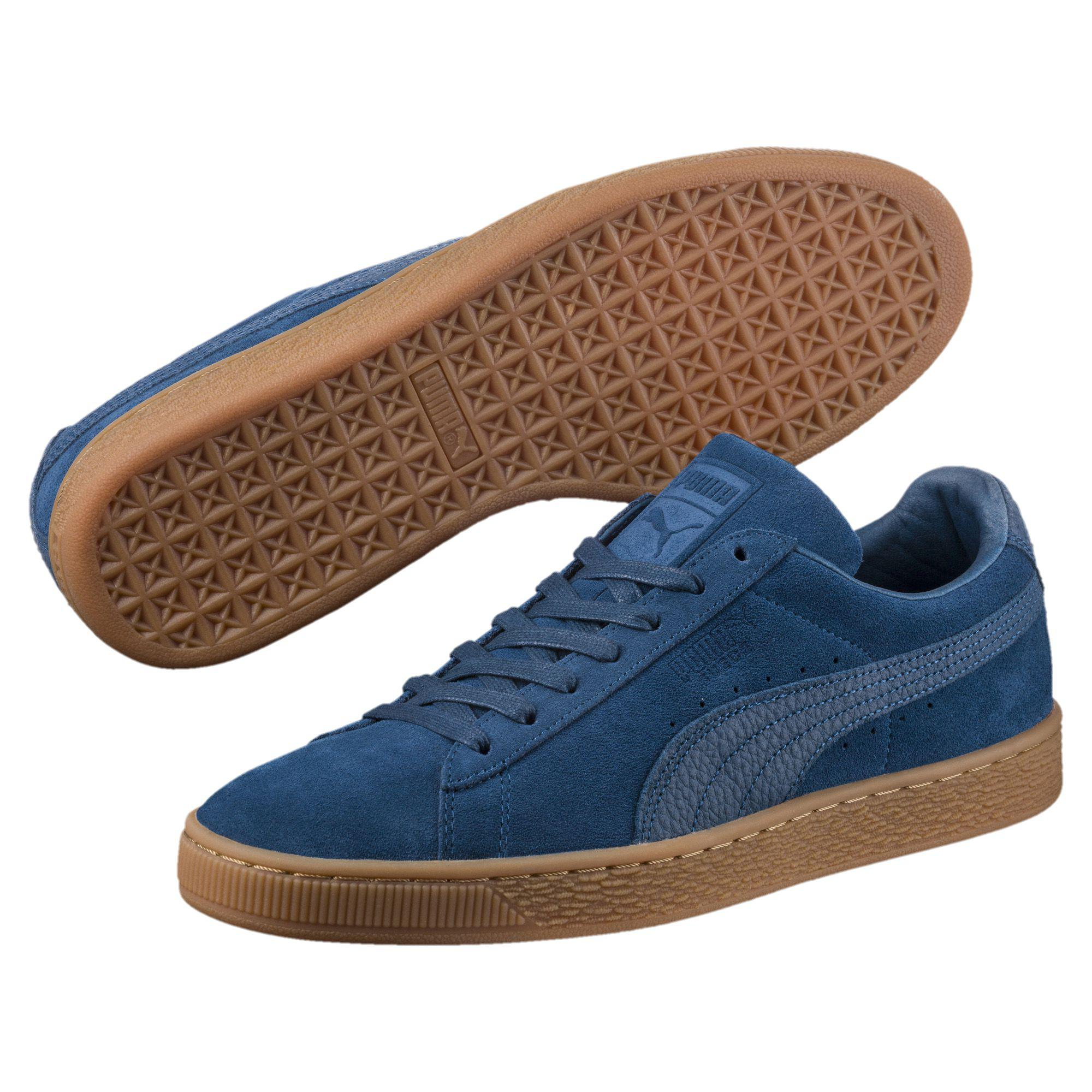 1f2ca685035 Lyst - PUMA Suede Classic Natural Warmth Sneakers in Blue for Men