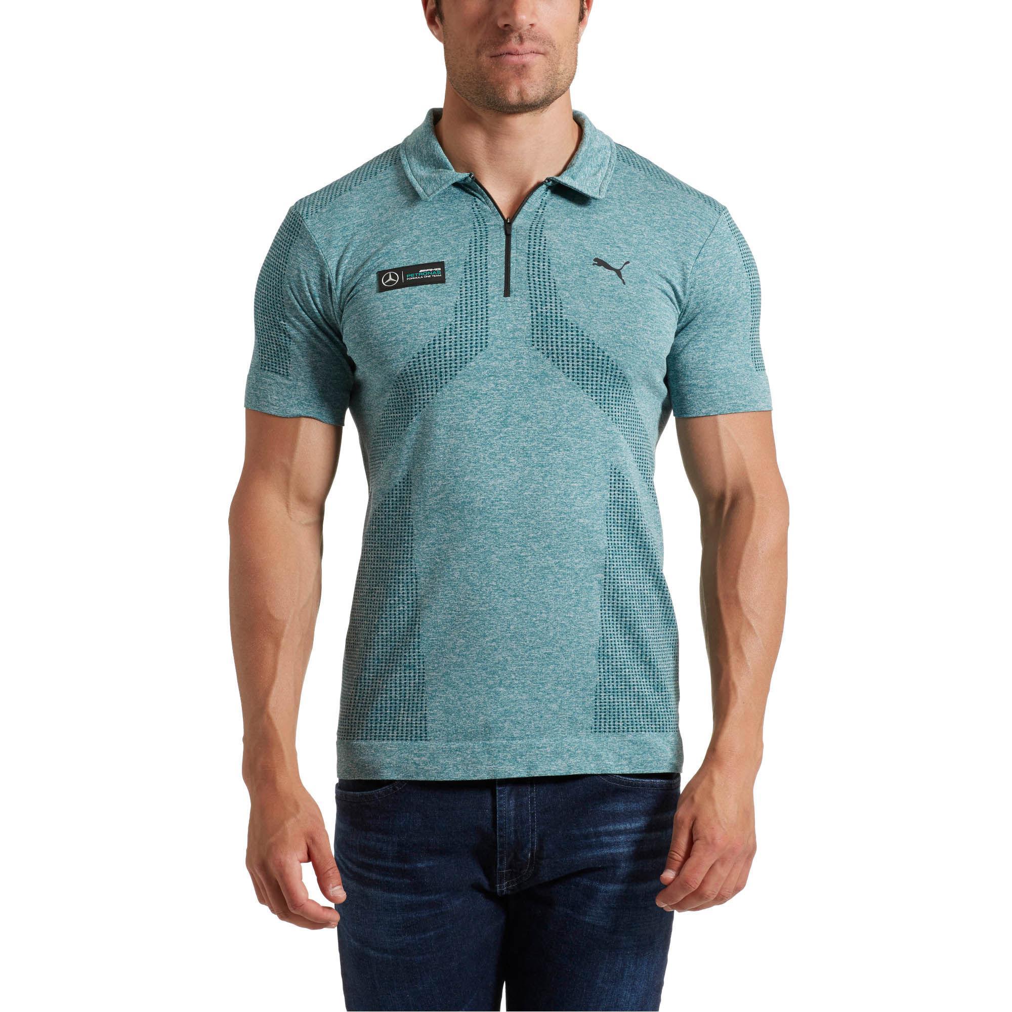 ffe4faab6 PUMA Mercedes Amg Petronas Evoknit Polo for Men - Lyst