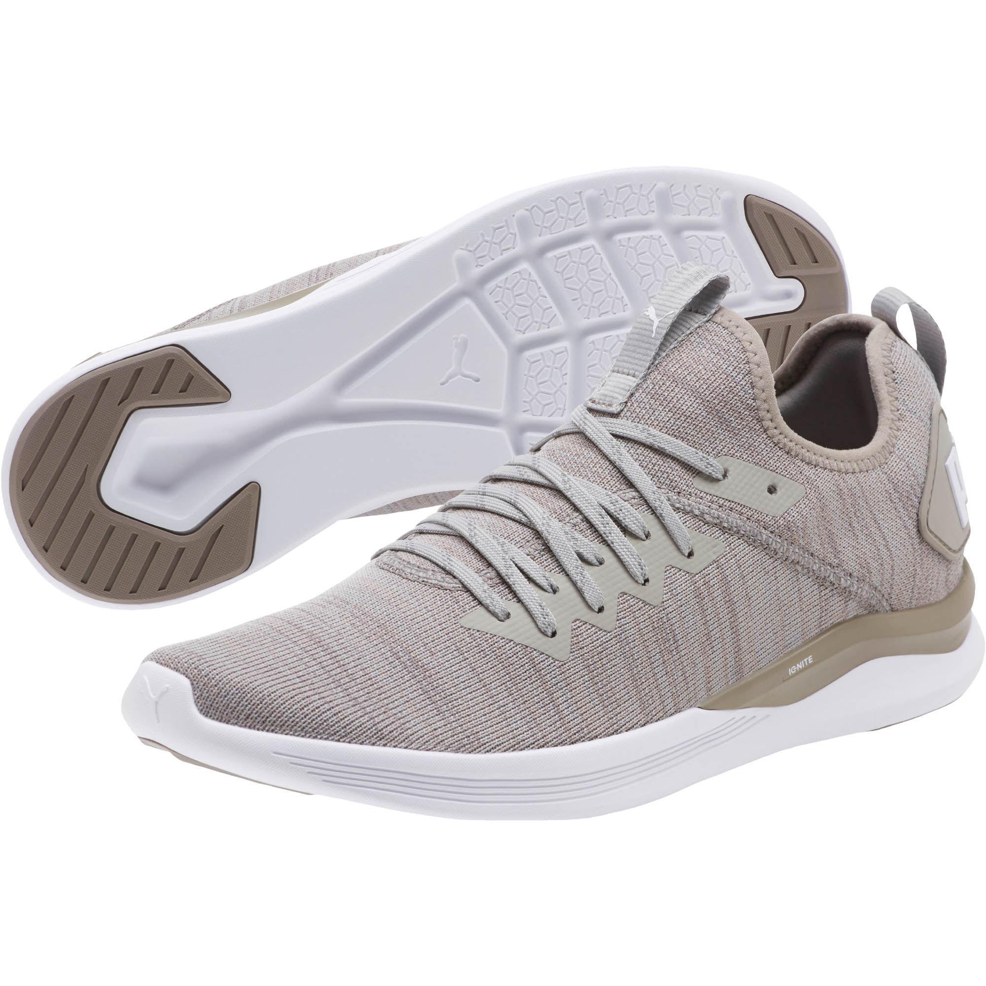 0ed8e7230f8602 Lyst - PUMA Ignite Flash Evoknit Men s Training Shoes for Men