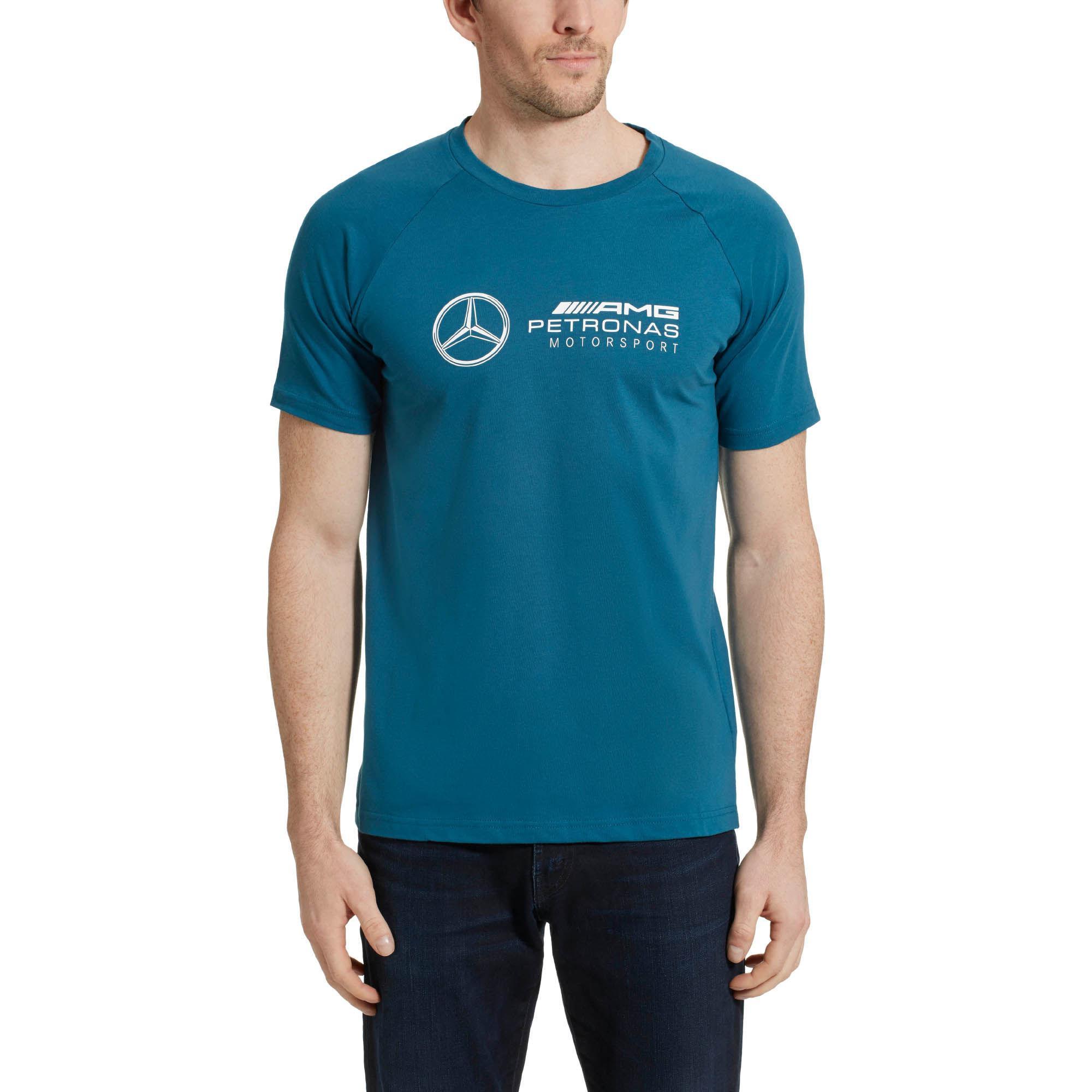 38871fa1f0f PUMA Mercedes Amg Petronas Men's Logo Tee in Blue for Men - Lyst