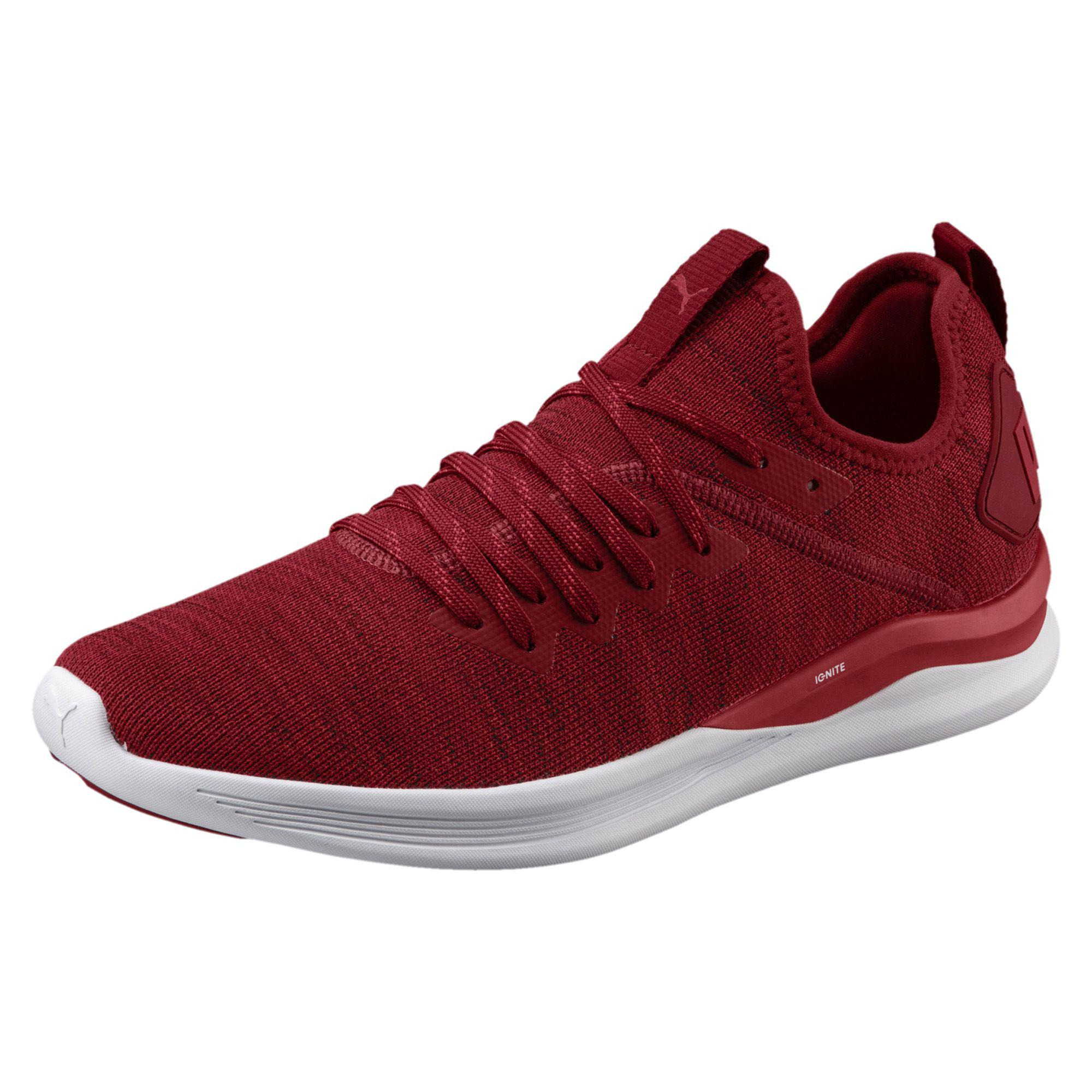 40e004d477d Lyst - PUMA Ignite Flash Evoknit Men s Training Shoes in Red for Men