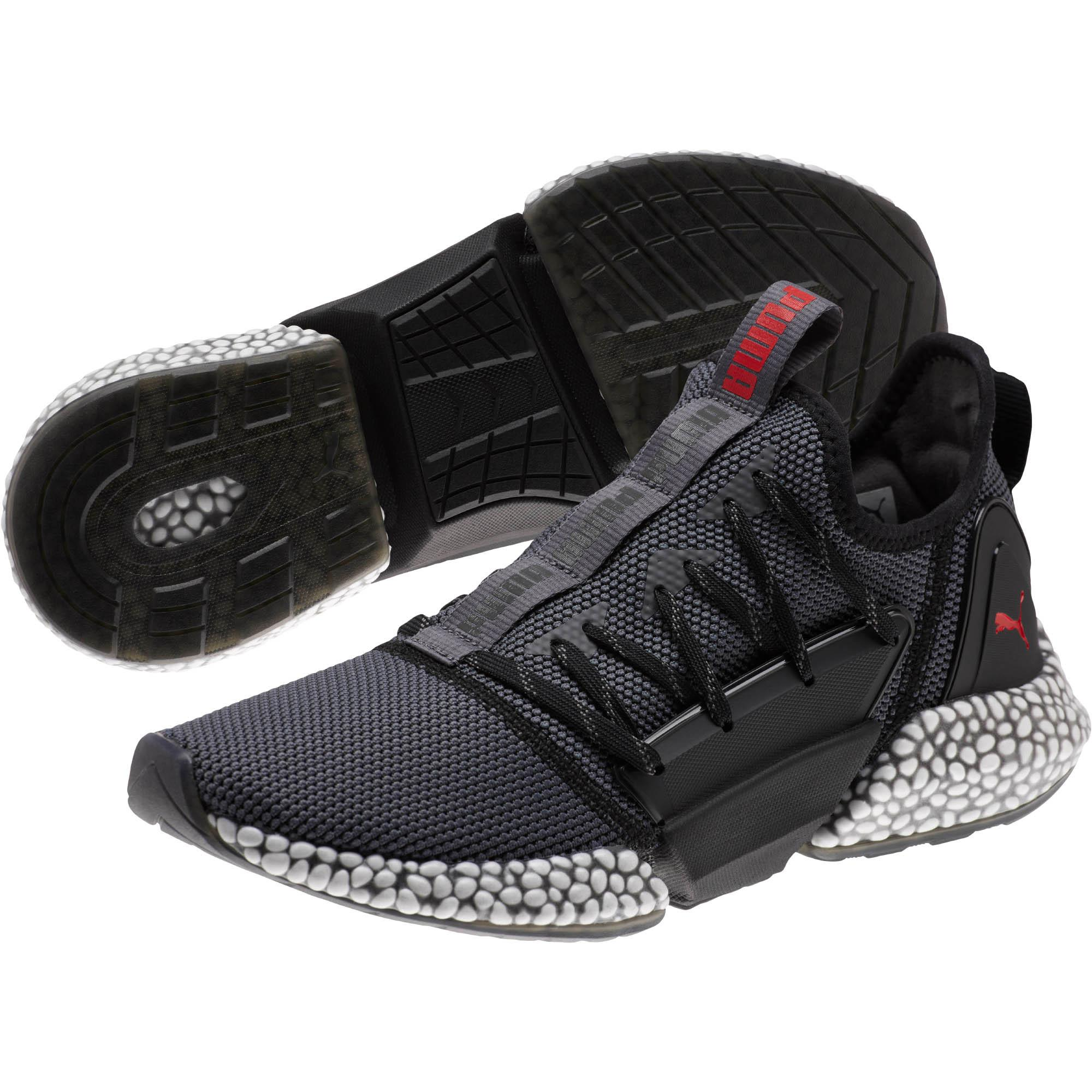 3f54a18758ec PUMA - Black Hybrid Rocket Runner Men s Running Shoes for Men - Lyst. View  fullscreen