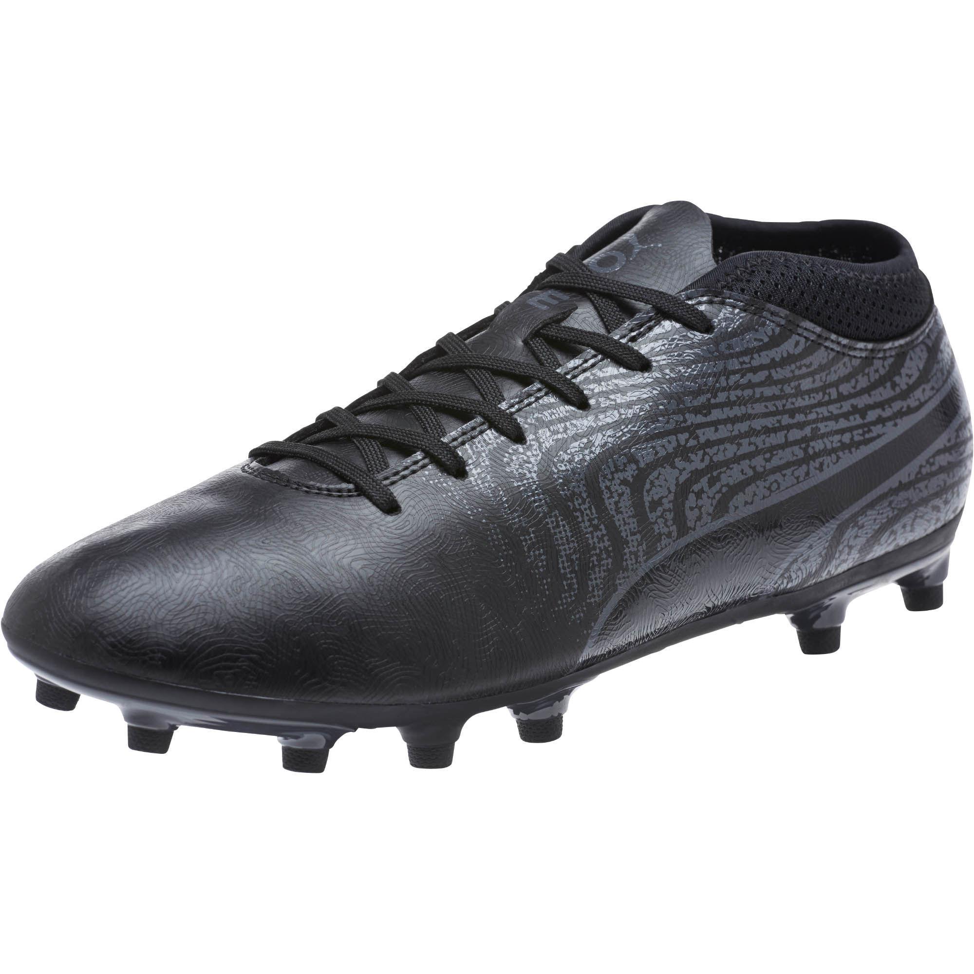 b7c050dee ... italy puma. black one 18.4 fg mens soccer cleats b7717 a9ac1