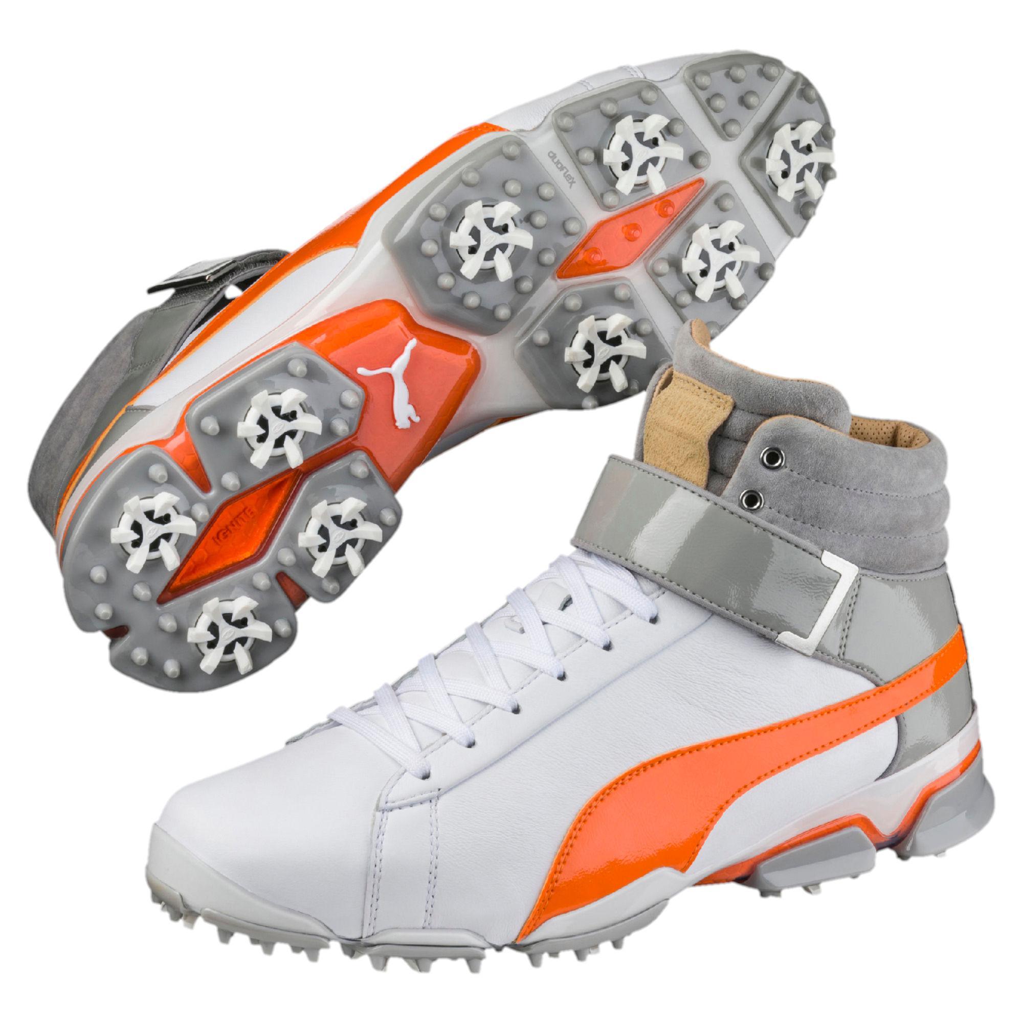 86cedb655a68 Lyst - PUMA Titantour Ignite High-top Men s Golf Shoes in White for Men