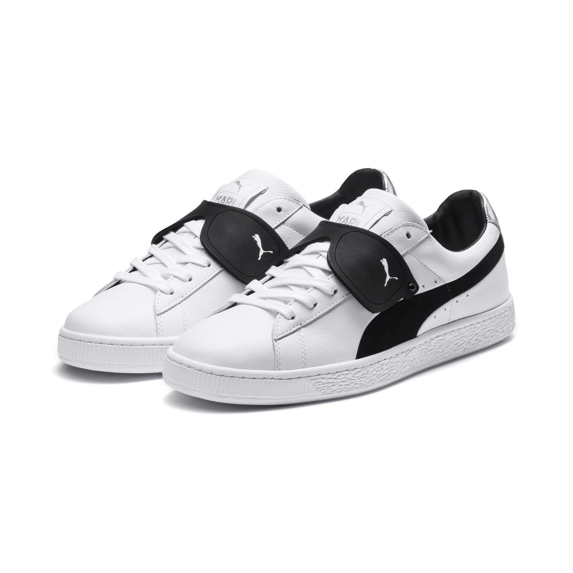 dec47f90033462 PUMA - Black X Karl Lagerfeld Suede Classic Sneakers - Lyst. View fullscreen