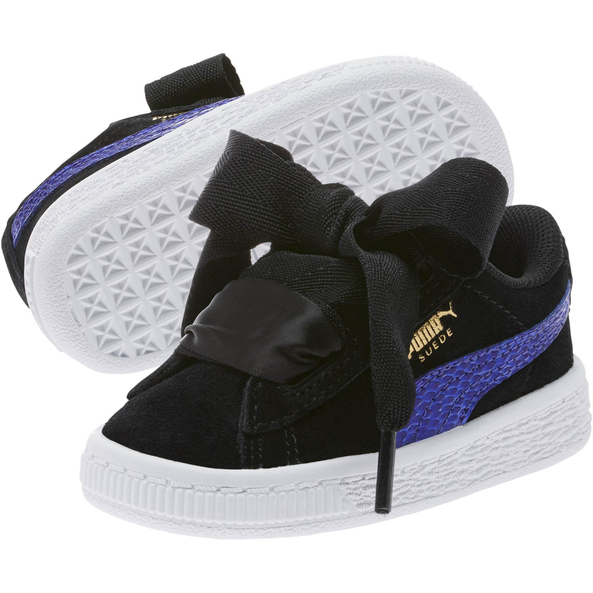 size 40 0bc31 75921 puma-Puma-Black-Baja-Blue-Suede-Heart-Snake-Girls-Sneakers.jpeg
