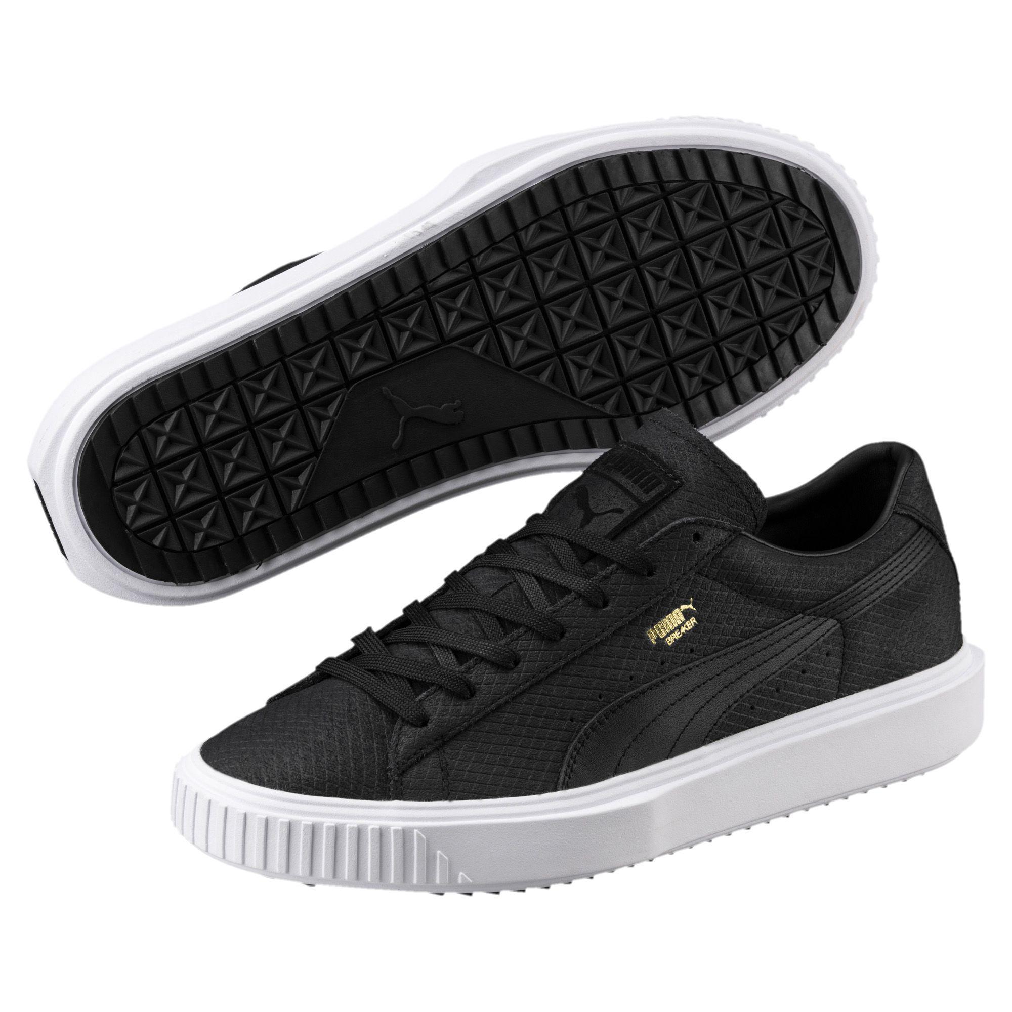 04fc2ba5519c4f ... official images PUMA - Black Suede Breaker Sneakers for Men - Lyst.