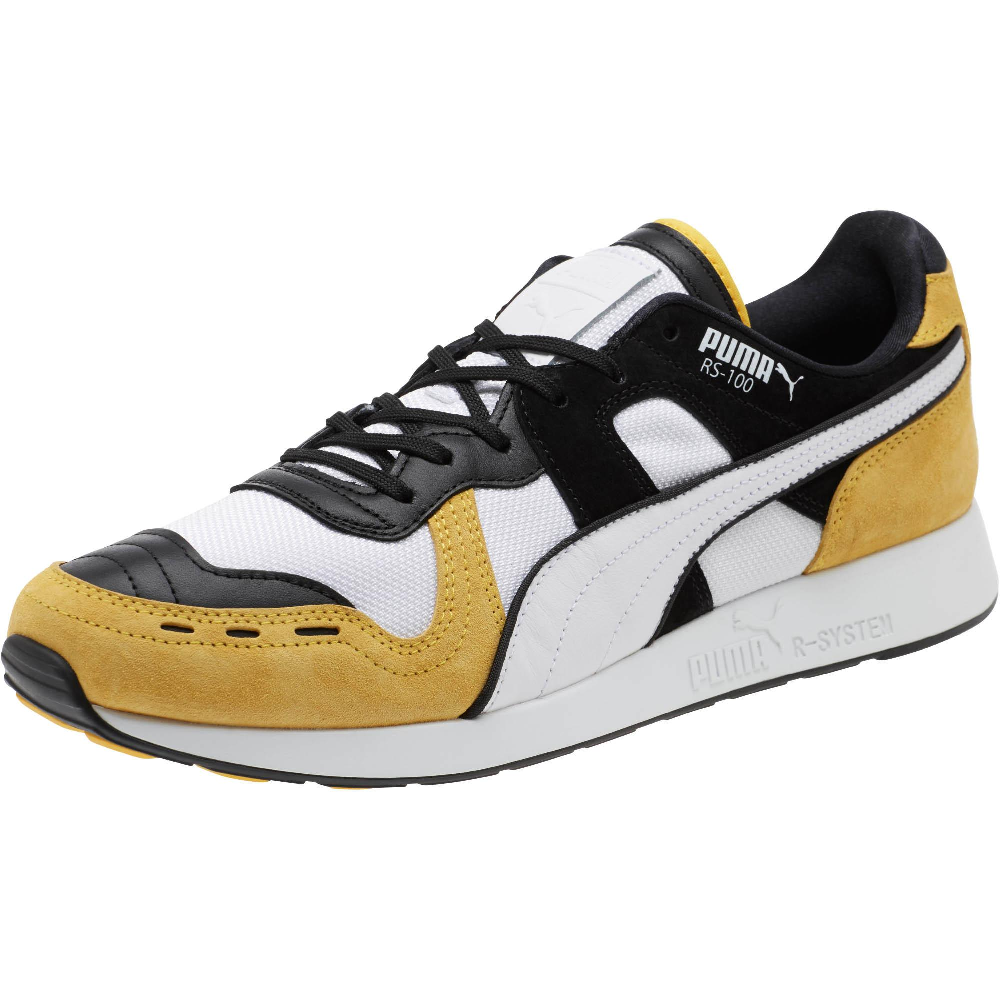 42b02d2a038 Lyst - PUMA Rs-100 Nubuck Sneakers in Black for Men