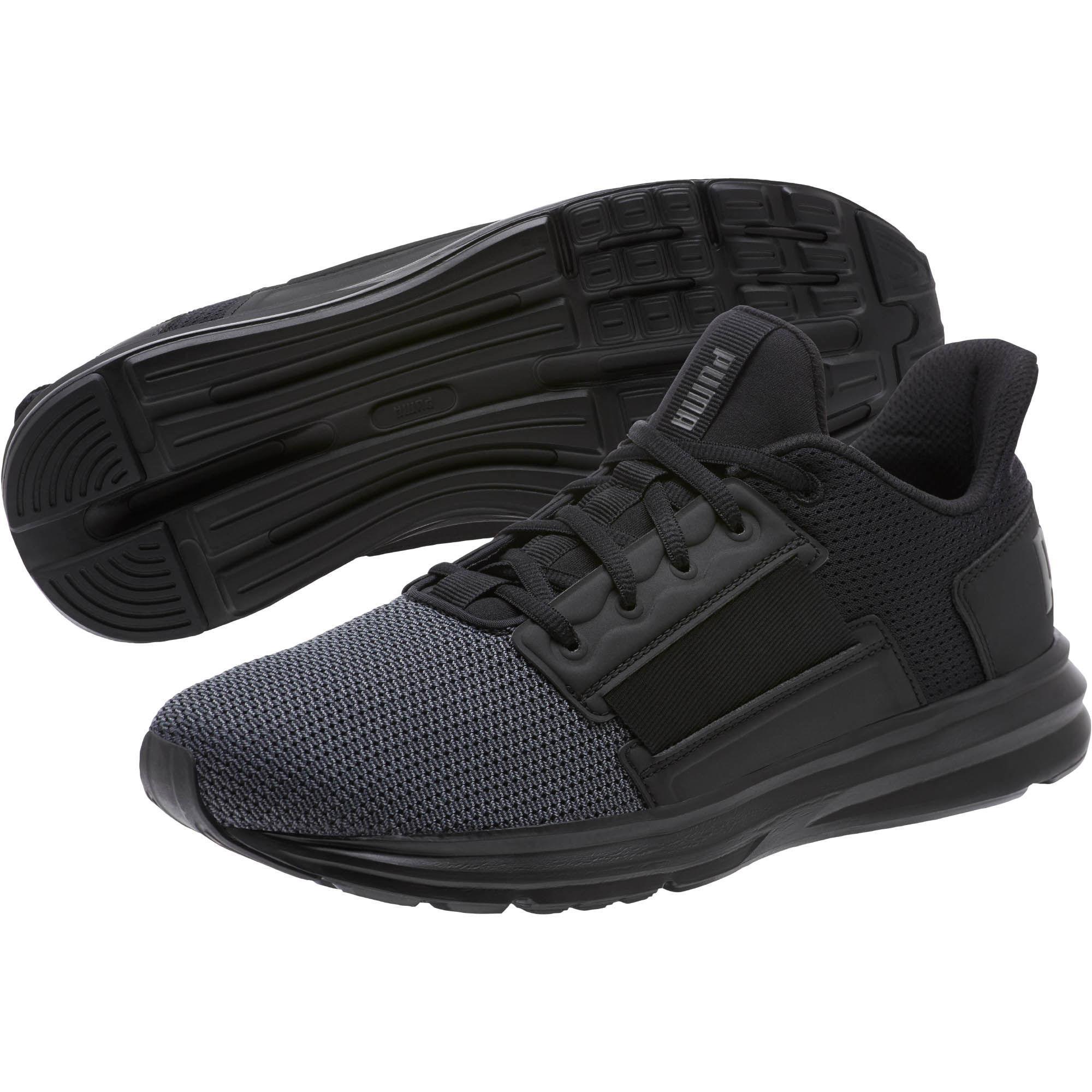 b43a244b7bb7 PUMA - Black Enzo Street Running Shoes for Men - Lyst. View fullscreen