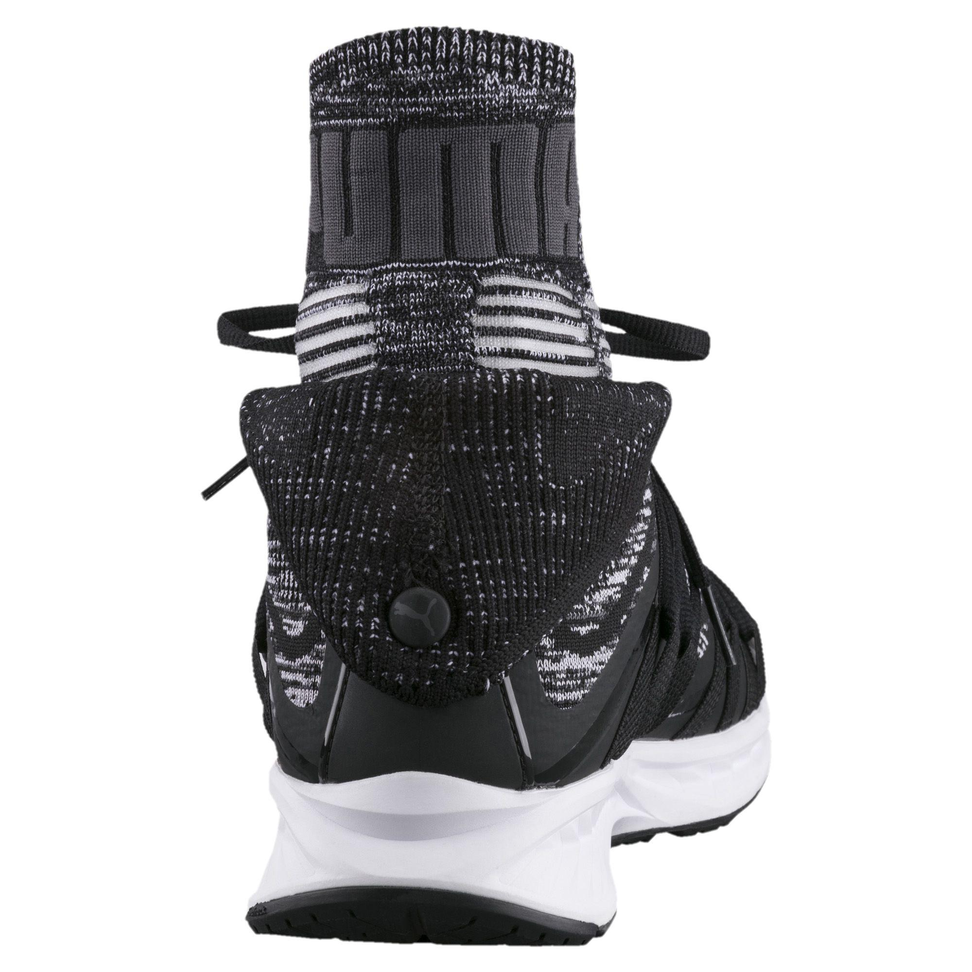 54ab7b1f41eb Lyst - PUMA Ignite Evoknit Fold Men s Training Shoes in Black for Men