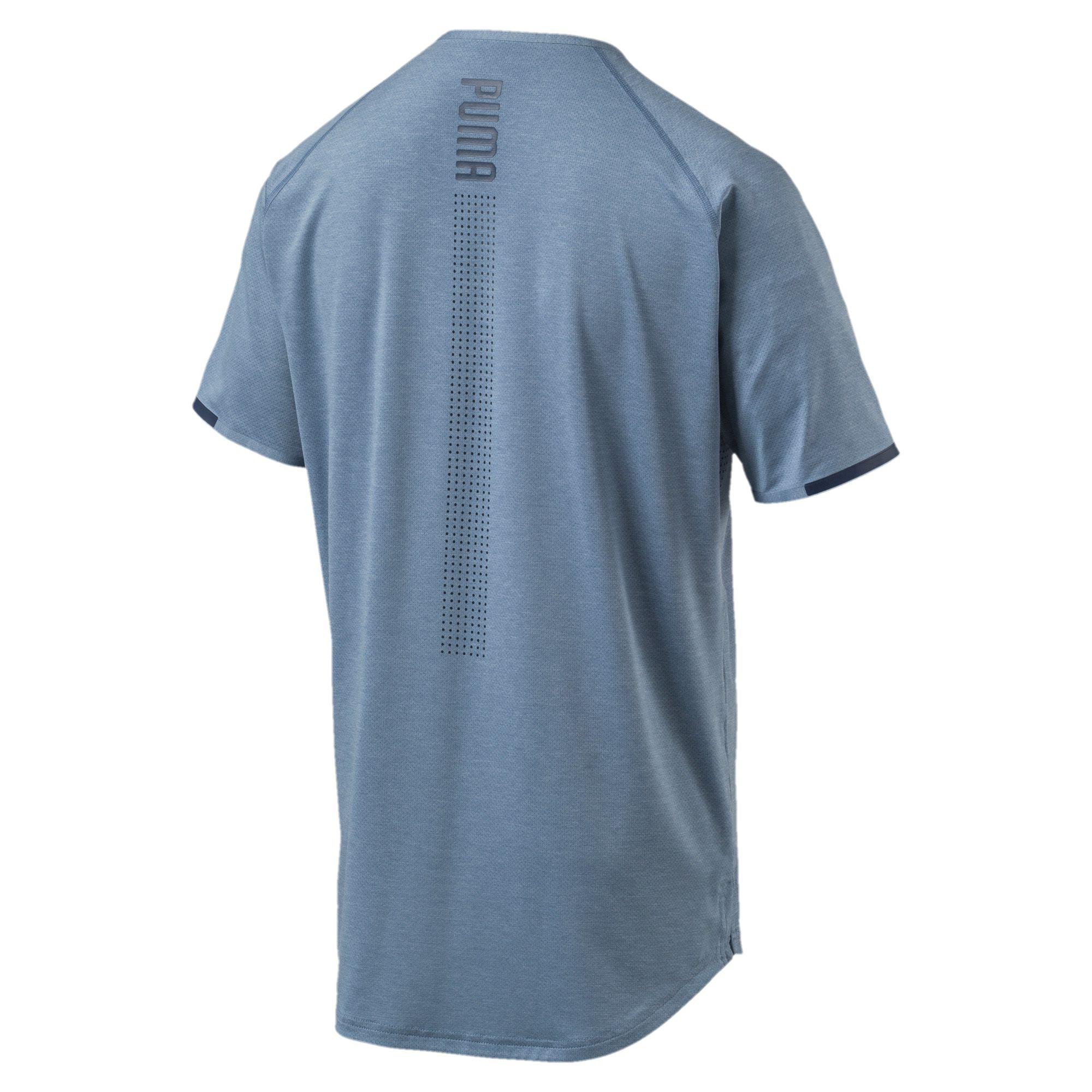 2f500aa50b8 Lyst - Puma Energy Laser Men's Short Sleeve Training Top in Blue for Men