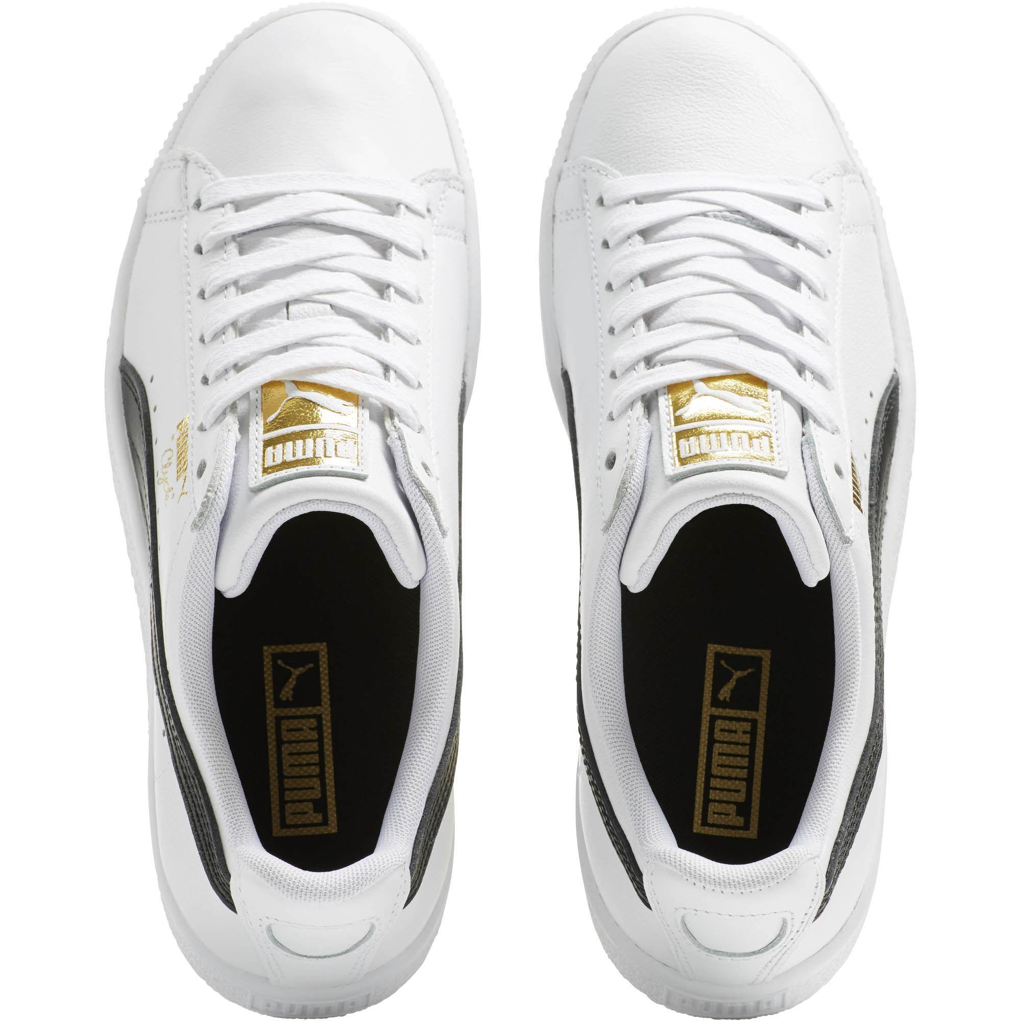 ... 99e0c 76465 Lyst - Puma Clyde Core Foil Women s Sneakers in White  various styles ... d57e981cf611