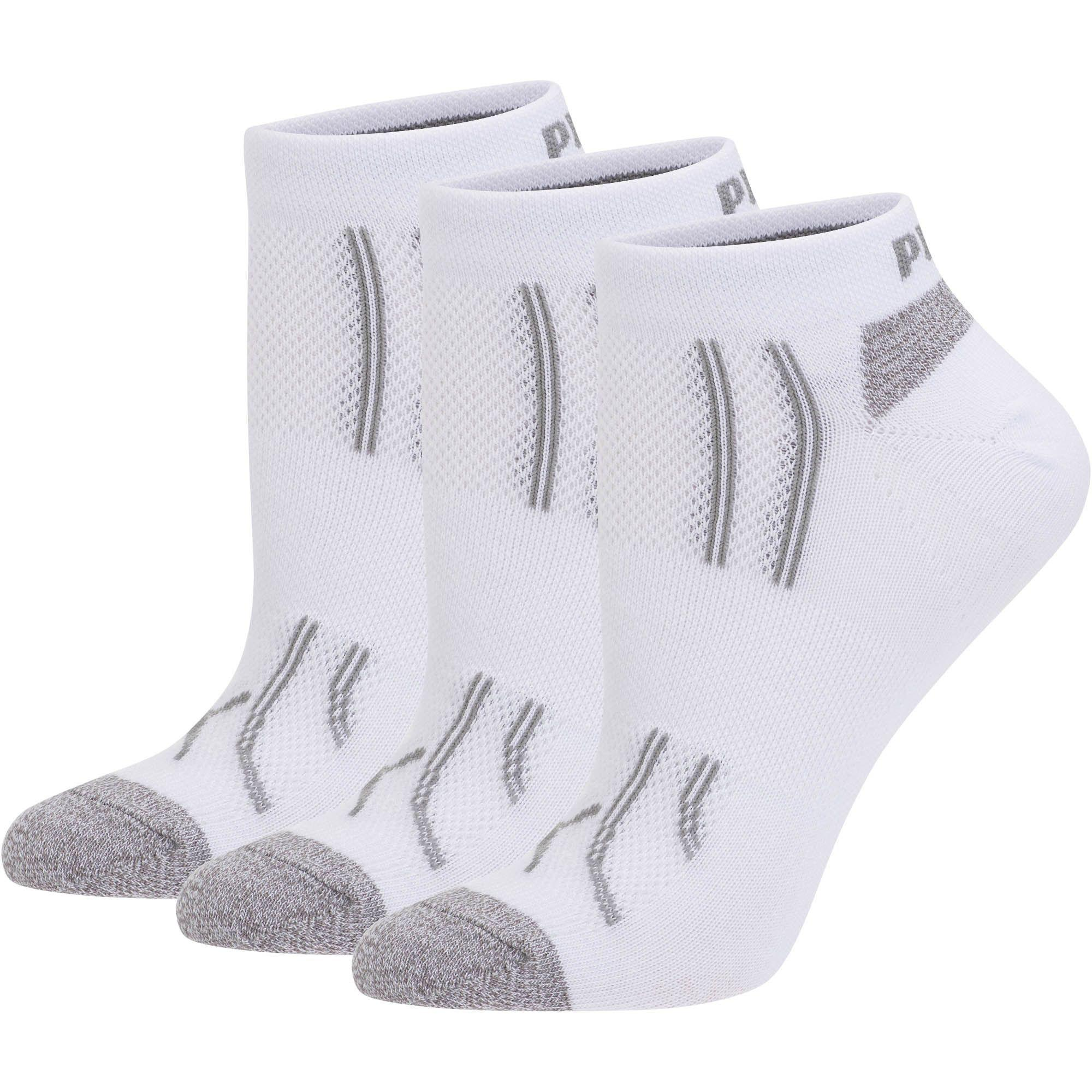 PUMA. Gray Modal Women's Low Cut Socks (3 Pack)