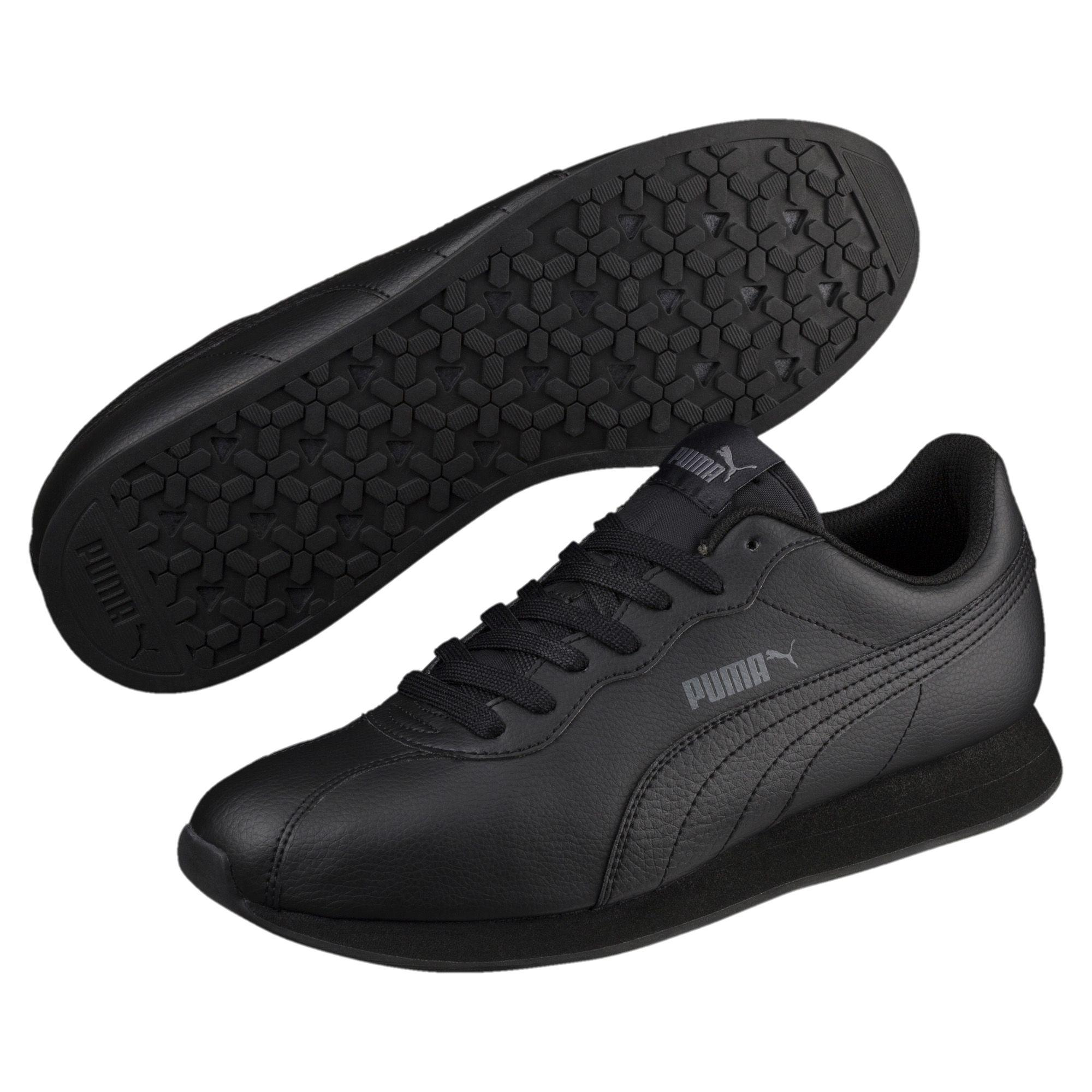 19719c92188 PUMA - Black Turin Ii Sneakers for Men - Lyst. View fullscreen