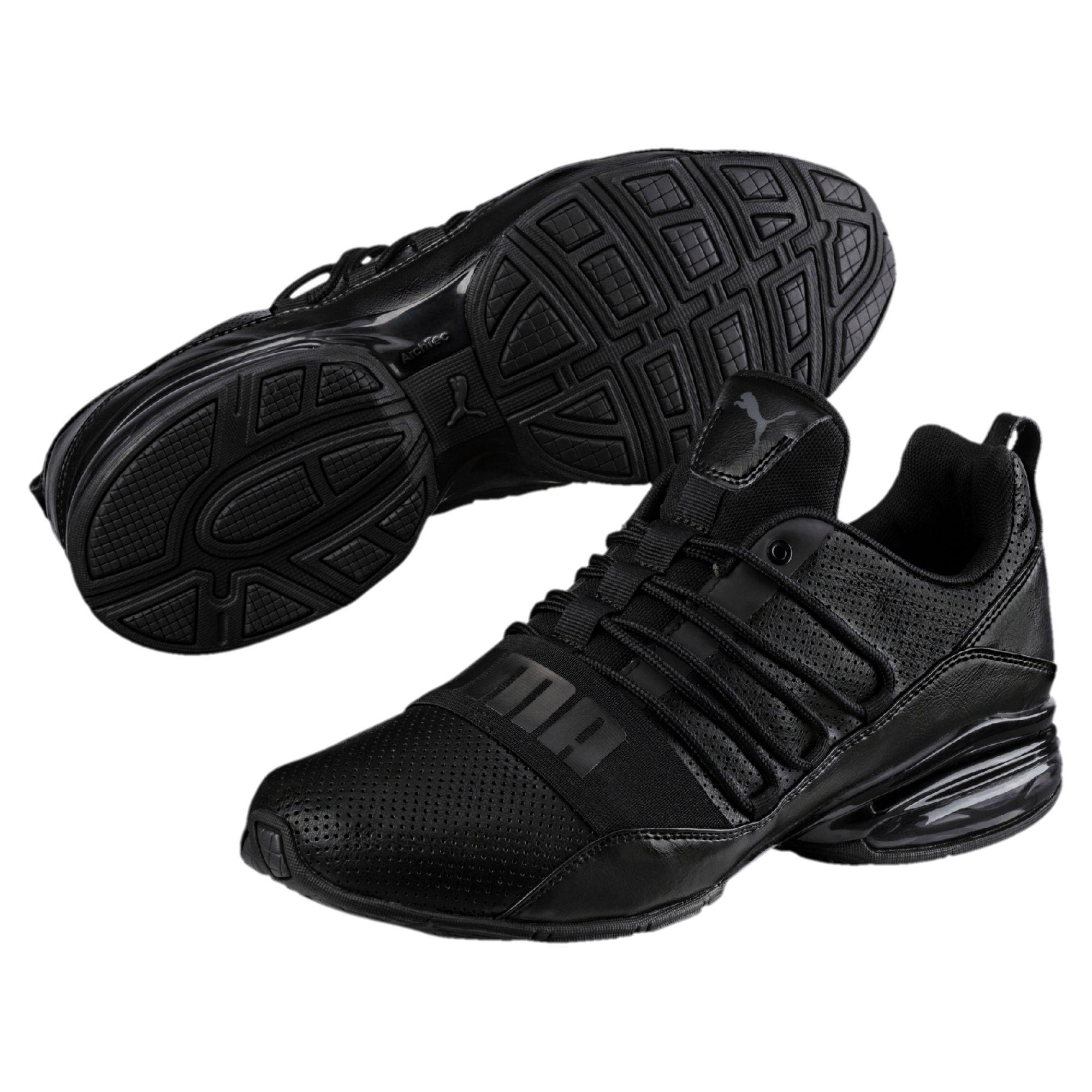 Running puma shoes black photo
