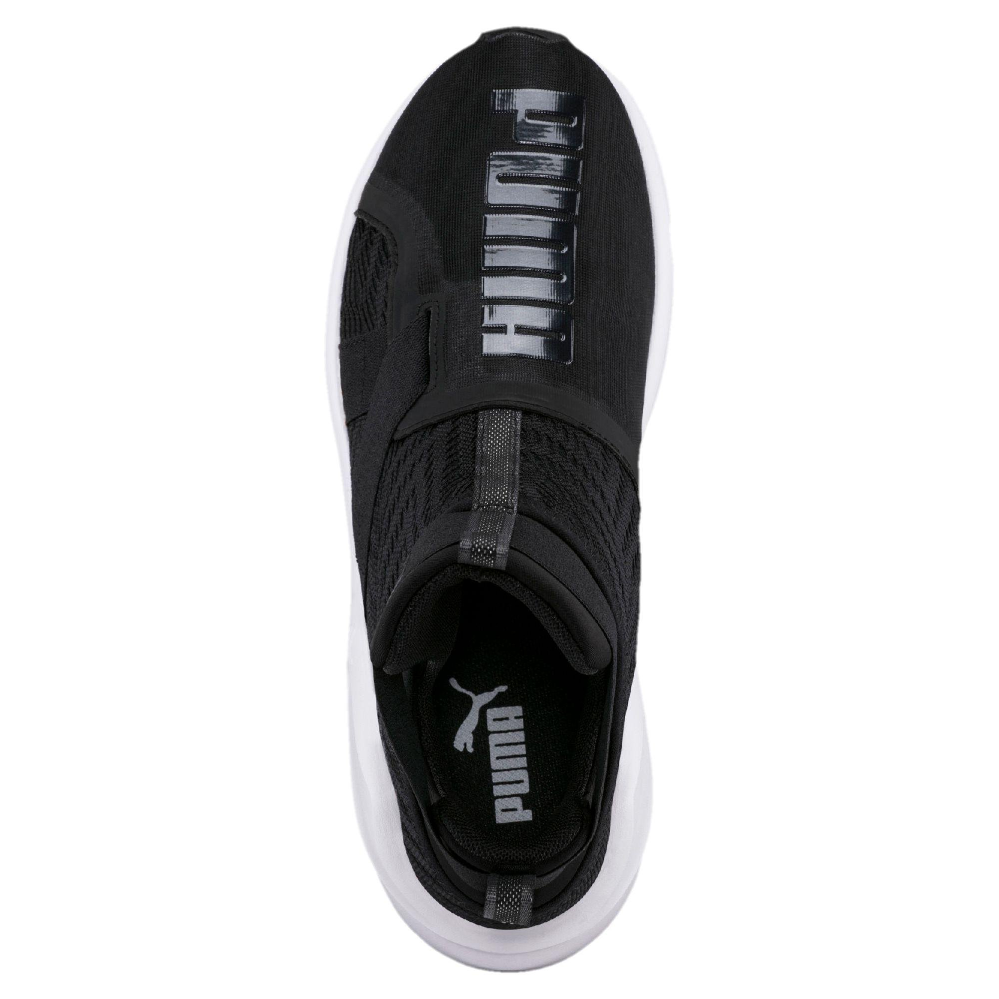 Lyst - PUMA Fierce Strap Swirl Women s Training Shoes in Black b8b2ee651