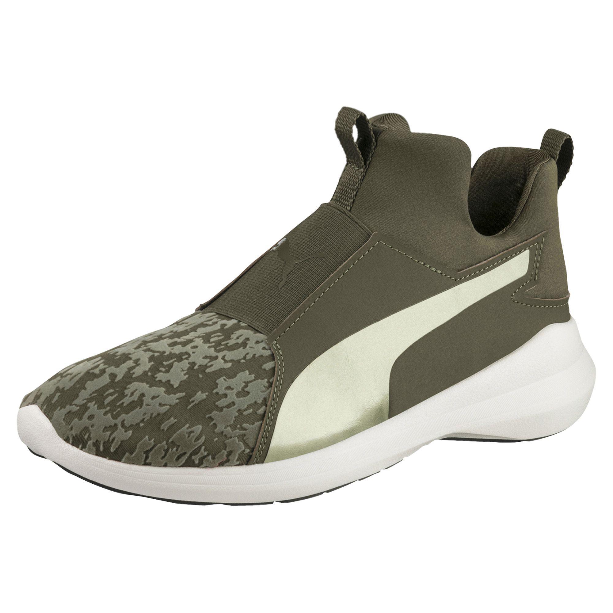 3e8e01c8dfd Lyst - PUMA Rebel Mid Vr Women s Training Shoes in Green