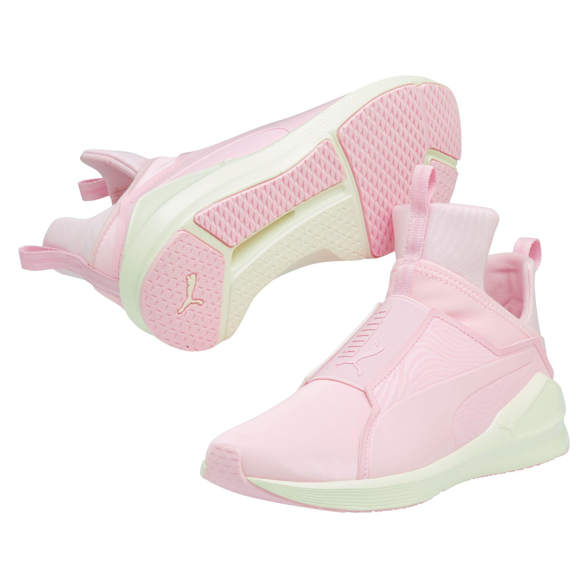 7b3d8f12ea05 Lyst - PUMA Fierce Muted Women s Training Shoes in Pink
