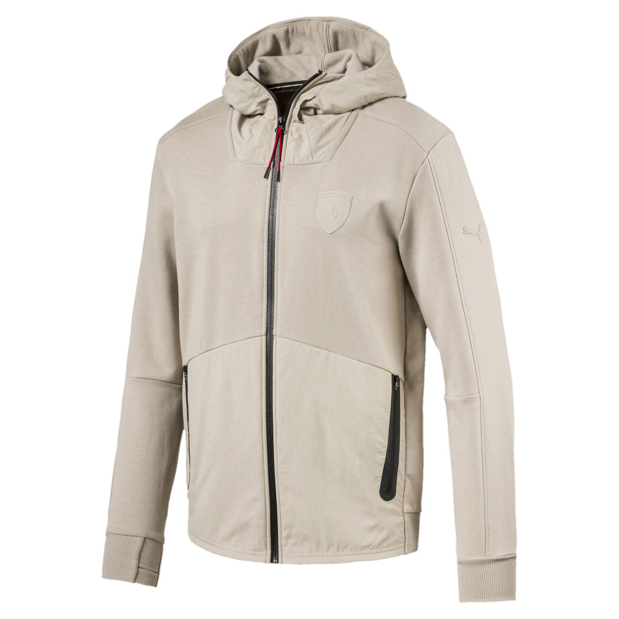 44c62476d0b3 Lyst - PUMA Ferrari Lifestyle Hooded Sweat Jacket for Men