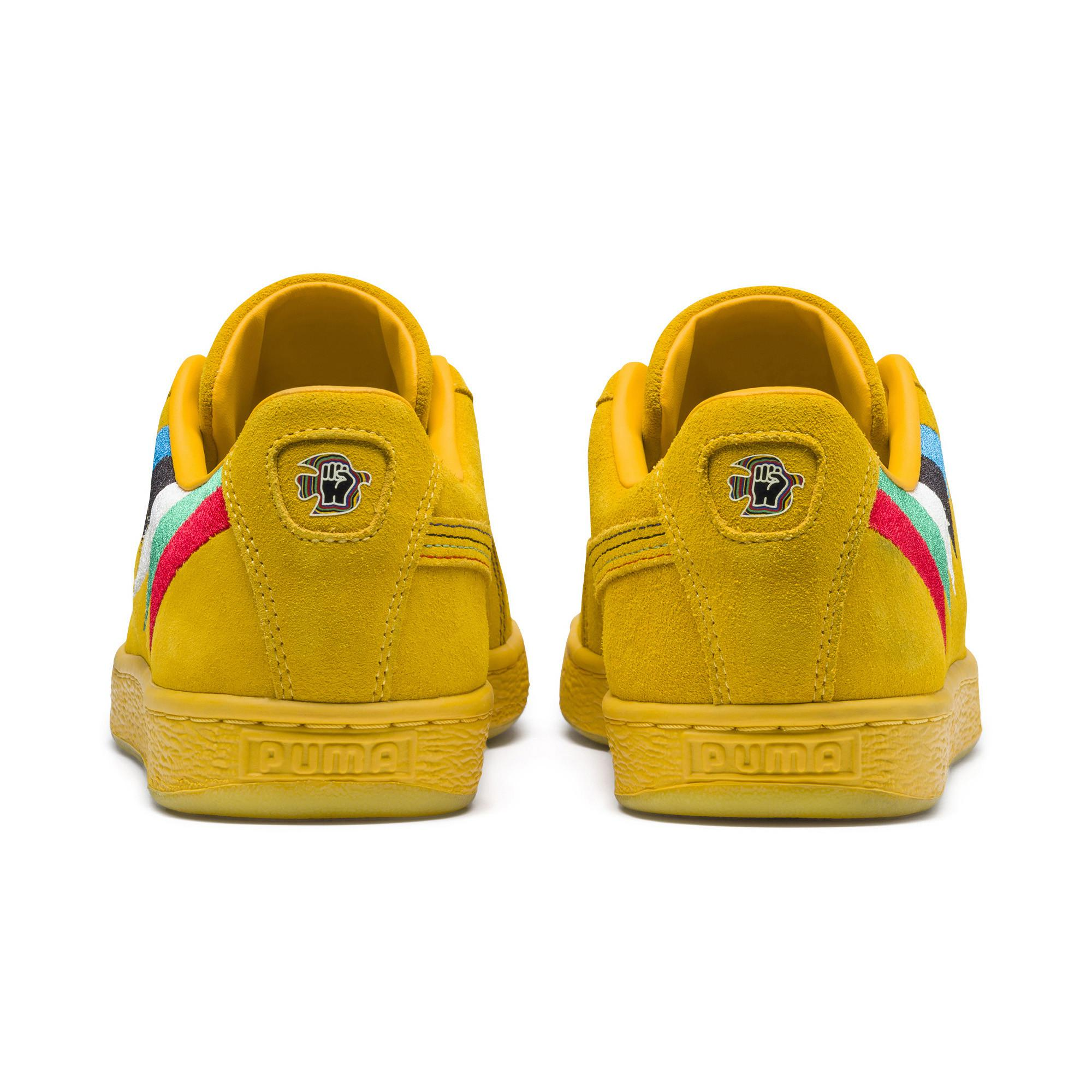 c45e98e26647 ... new product 9e28c 9c7e8 PUMA - Yellow X Power Through Peace Africa Suede  Sneakers - Lyst ...