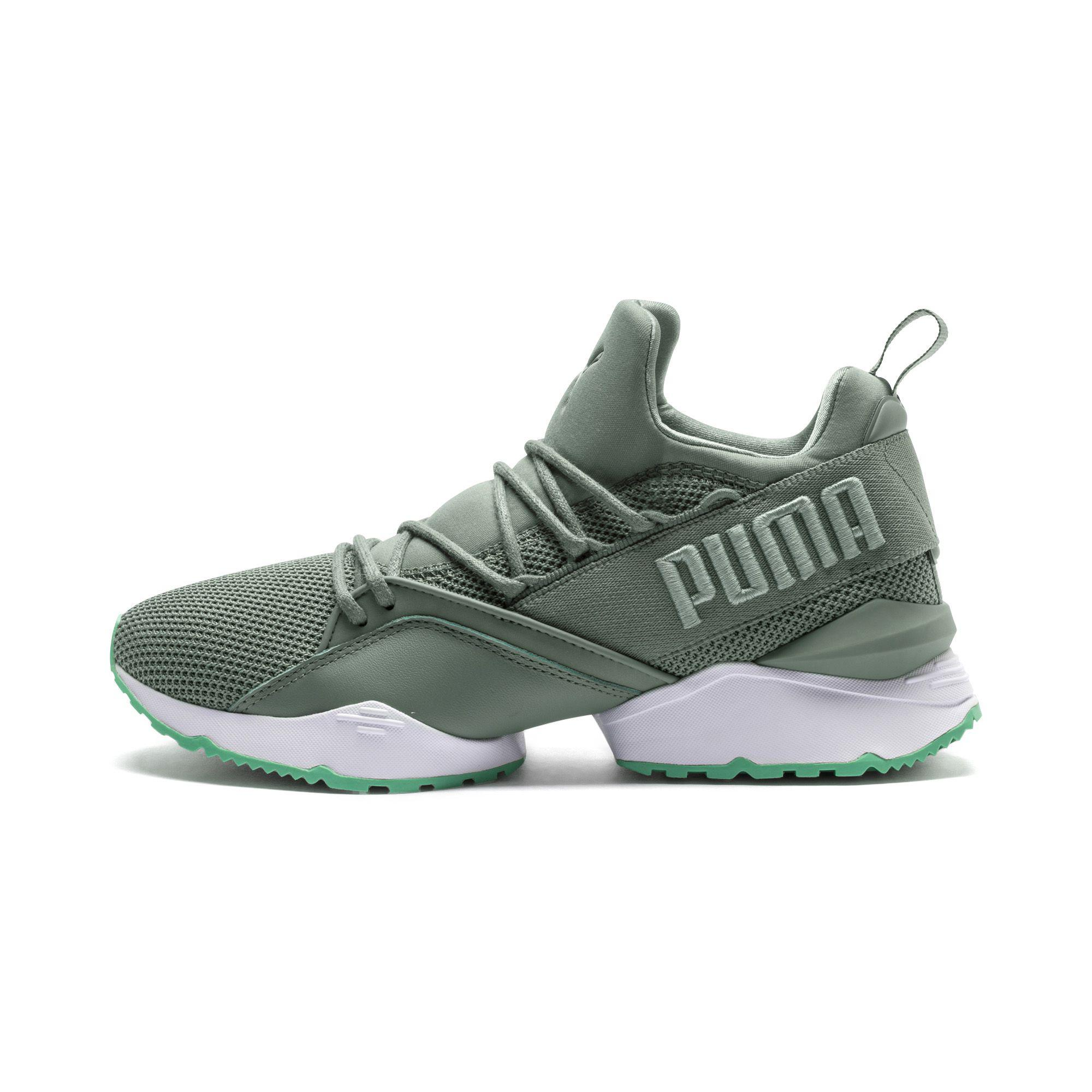 91a40460ffe3 Lyst - PUMA Muse Maia Street 2 Women s Sneakers in Green